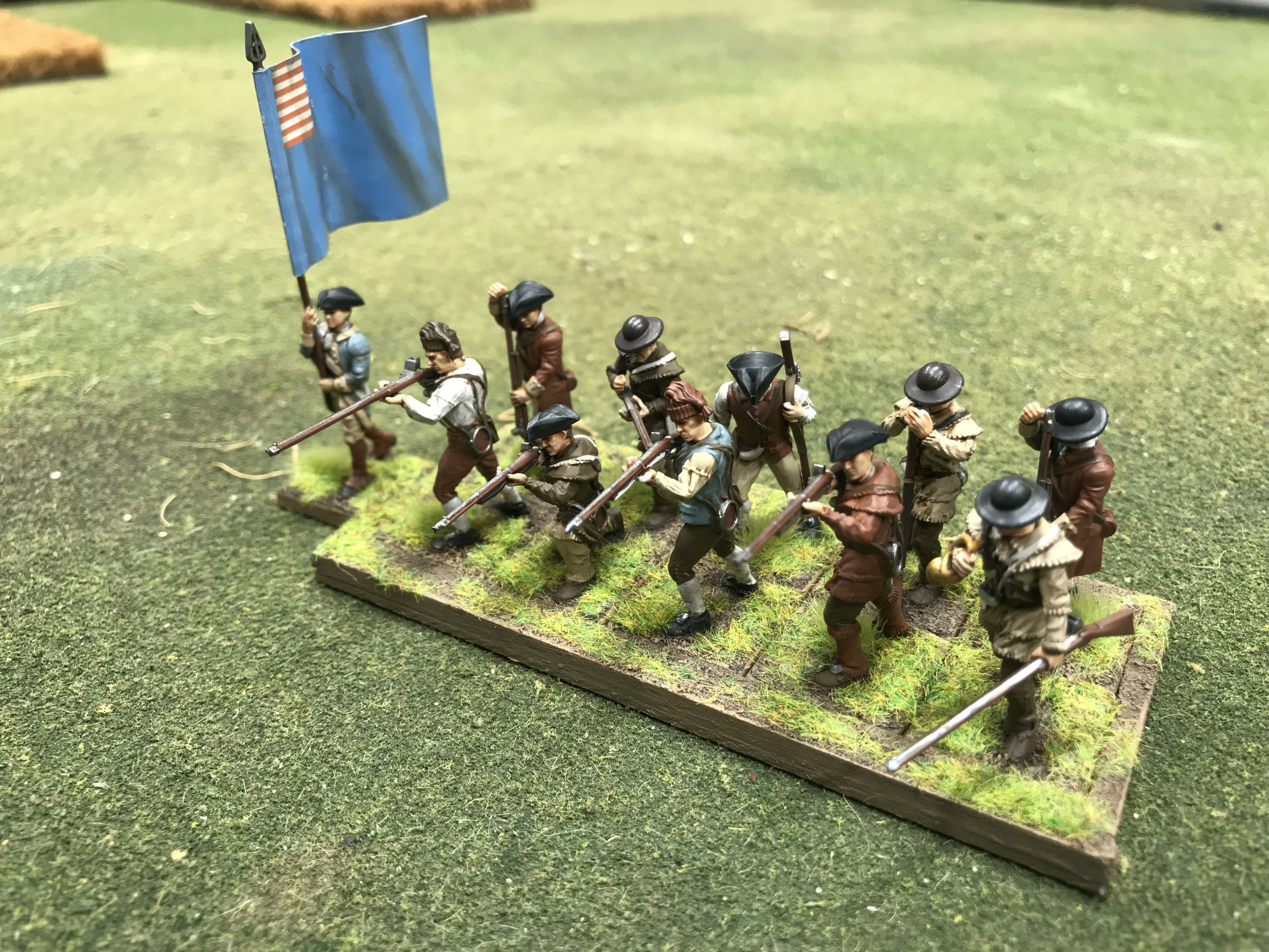 The (allegedly) last of the Colonial Militia from Travis