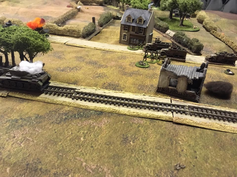 Swanning about in half tracks
