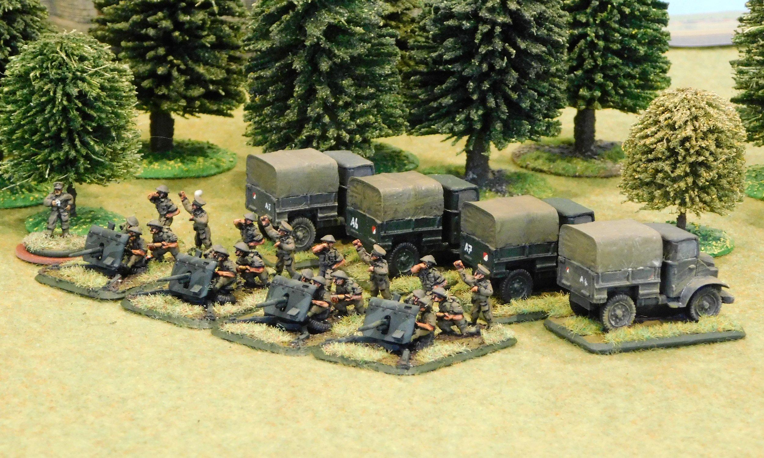 Anti-Tank Platoon (2 pdr guns)