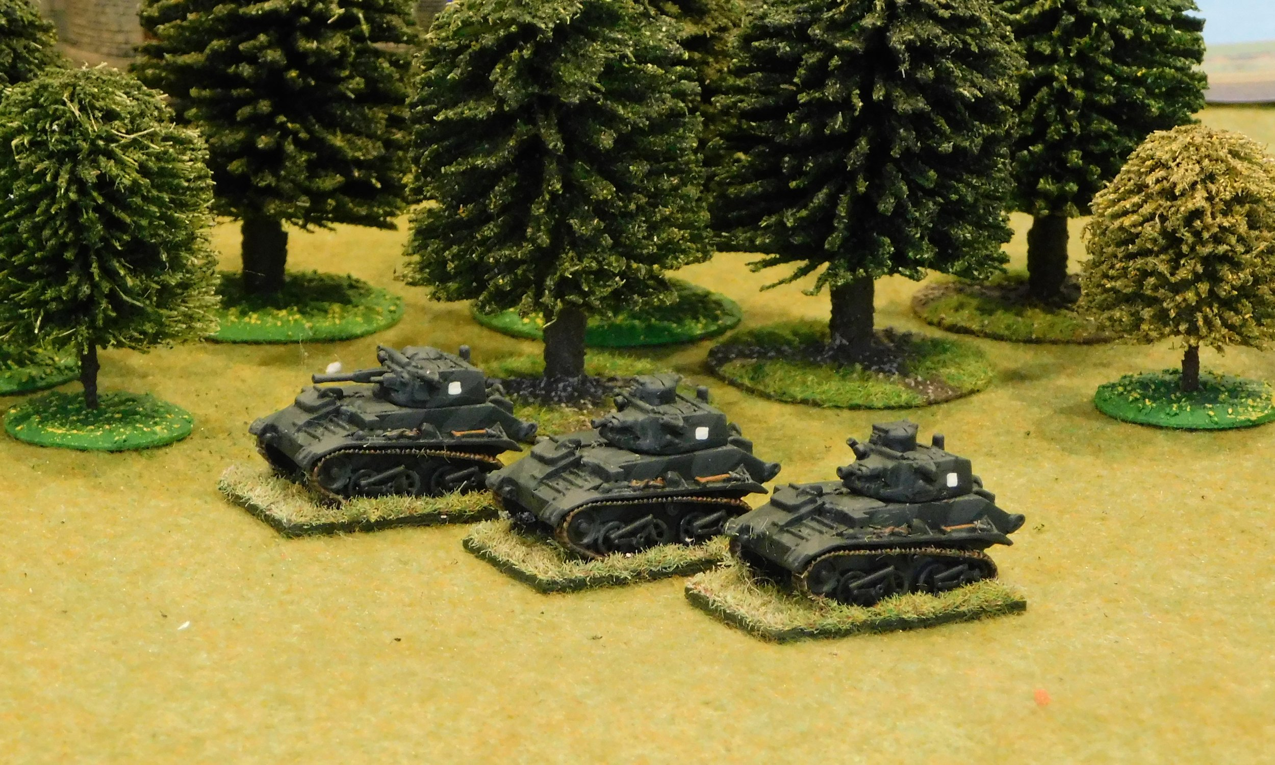 Dvisional Cavalry Troop (Vickers Mk VI B light tanks)