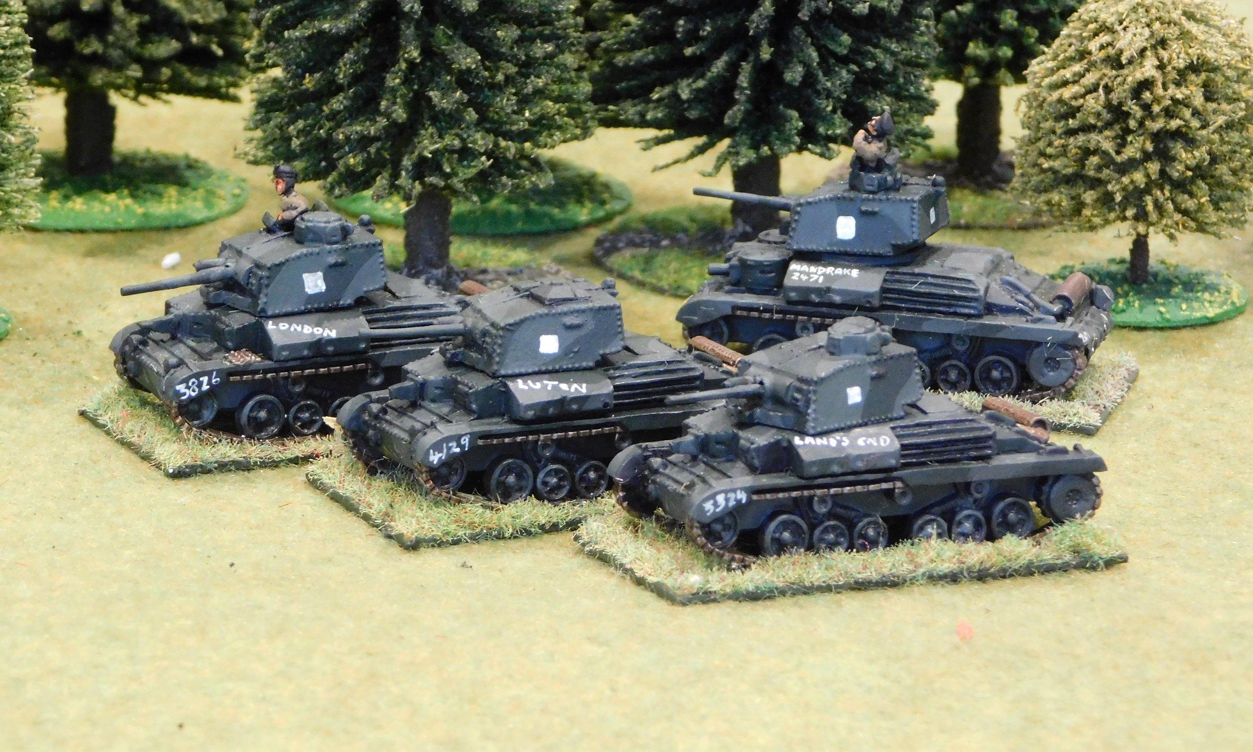 Regimental HQ (A10 & A9 Cruisers)