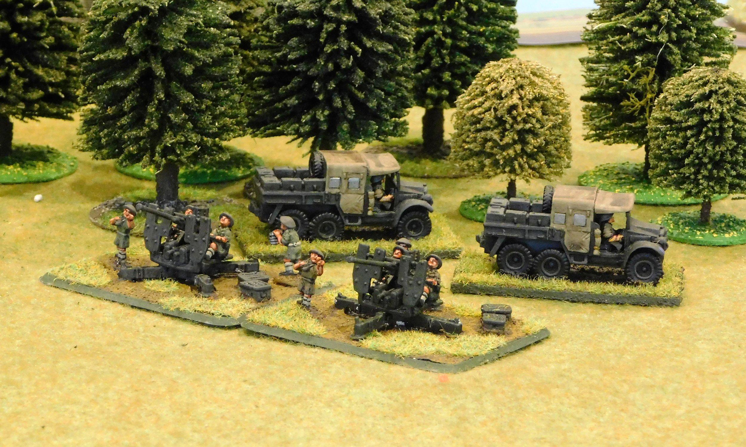 AA Guns & Morris AA Tractors