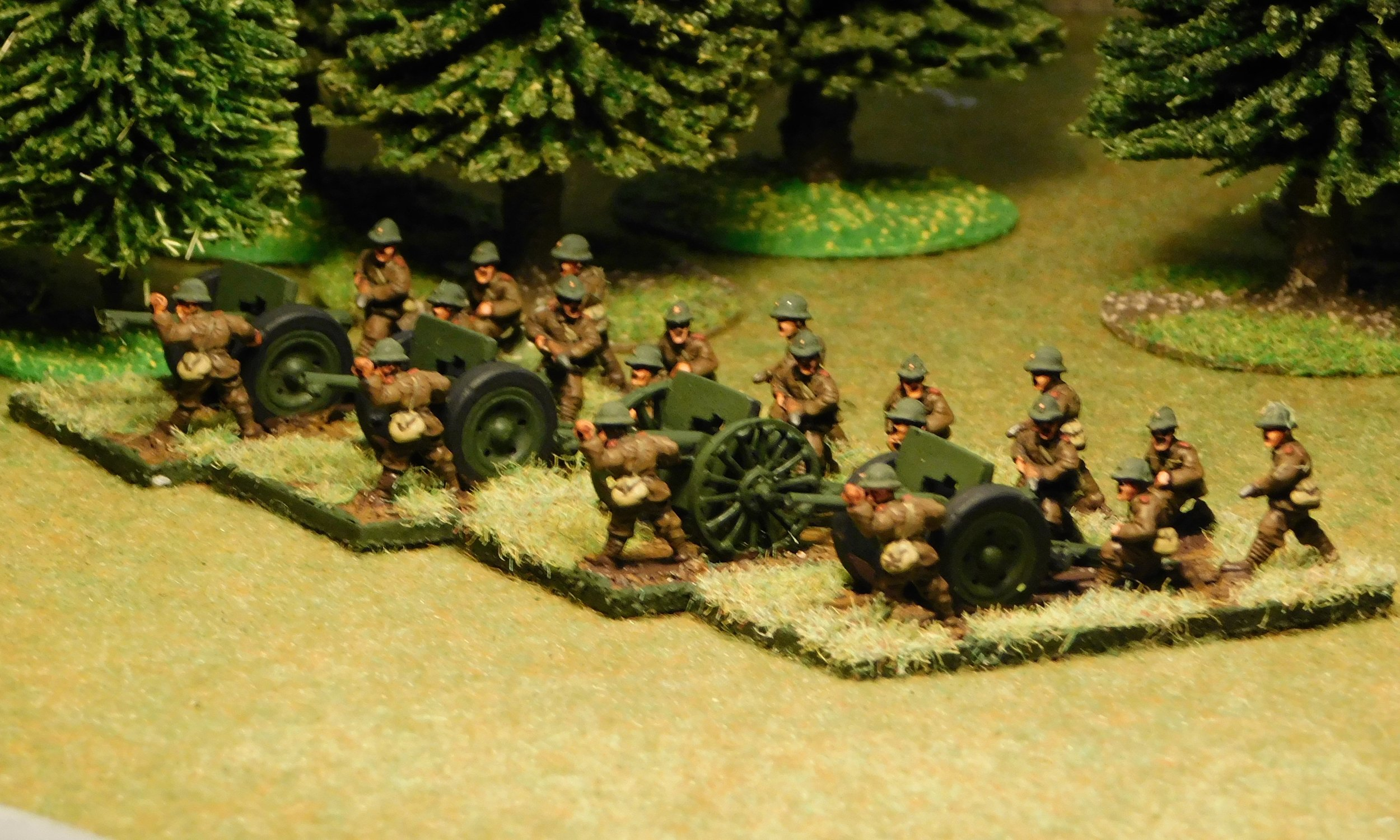 Light Field Artillery Battery (no transport)