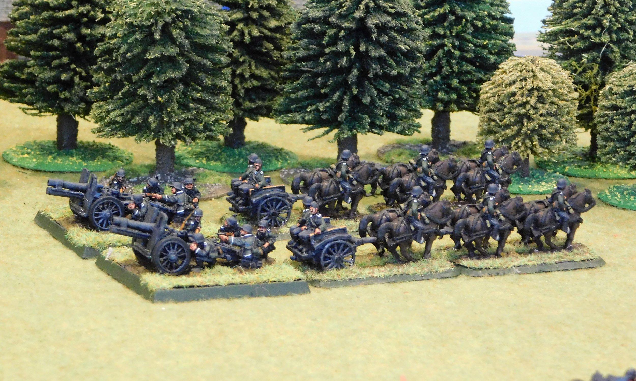 Infantry Gun Platoon (150mm)