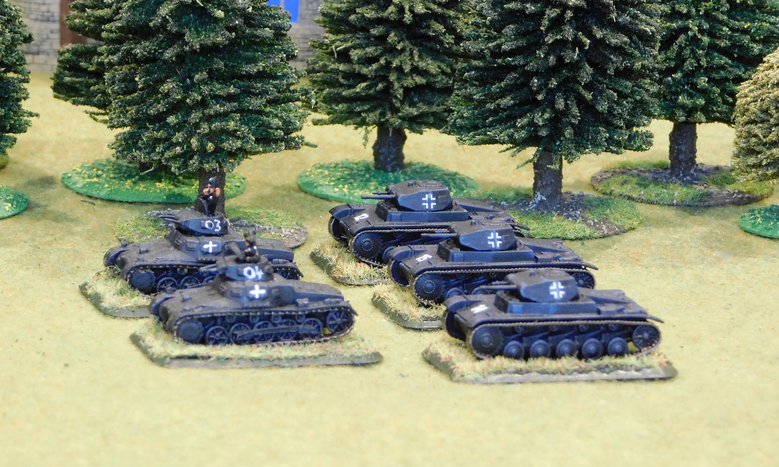 3rd (light Panzer) Platoon