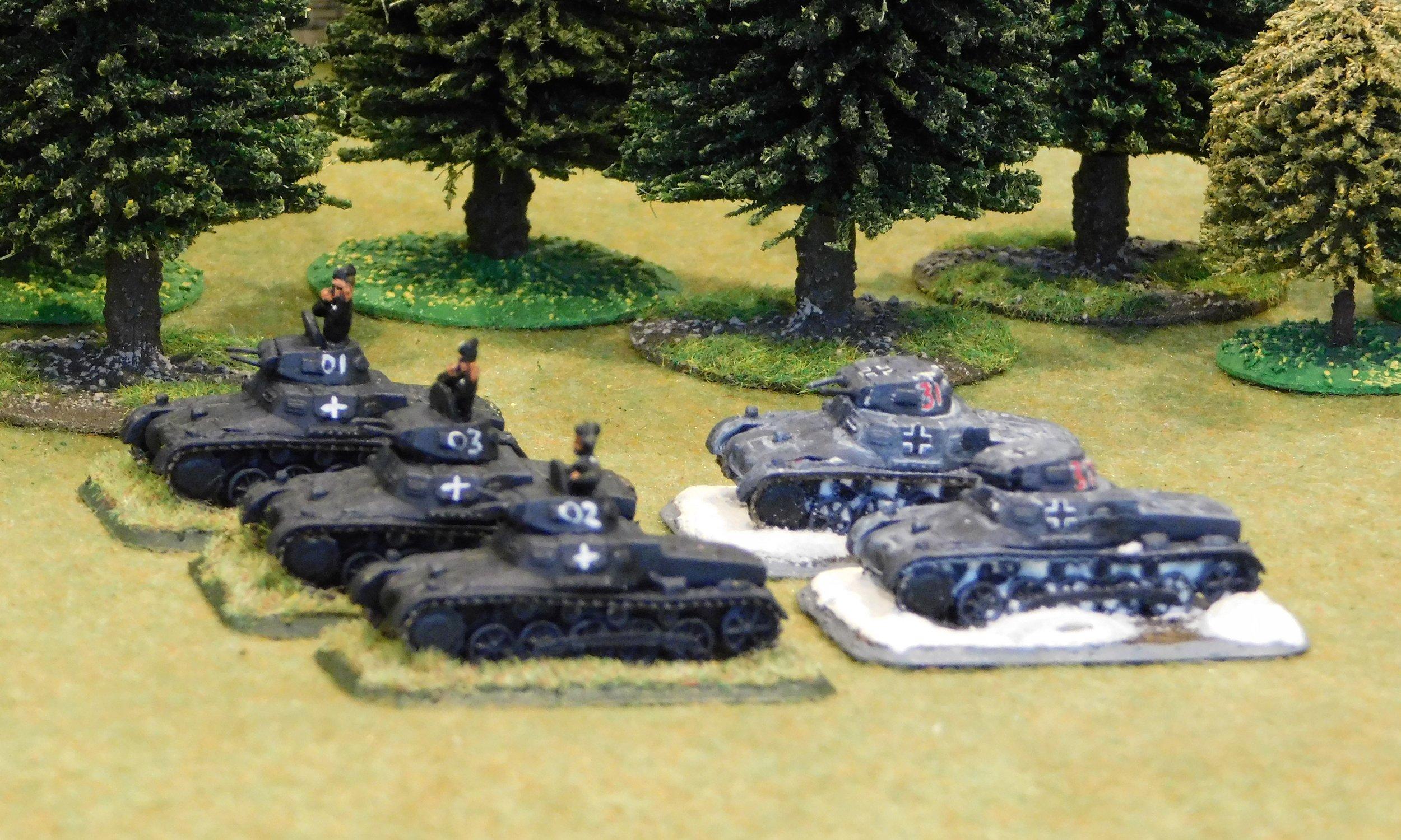 1st (Trucked Panzer) Platoon