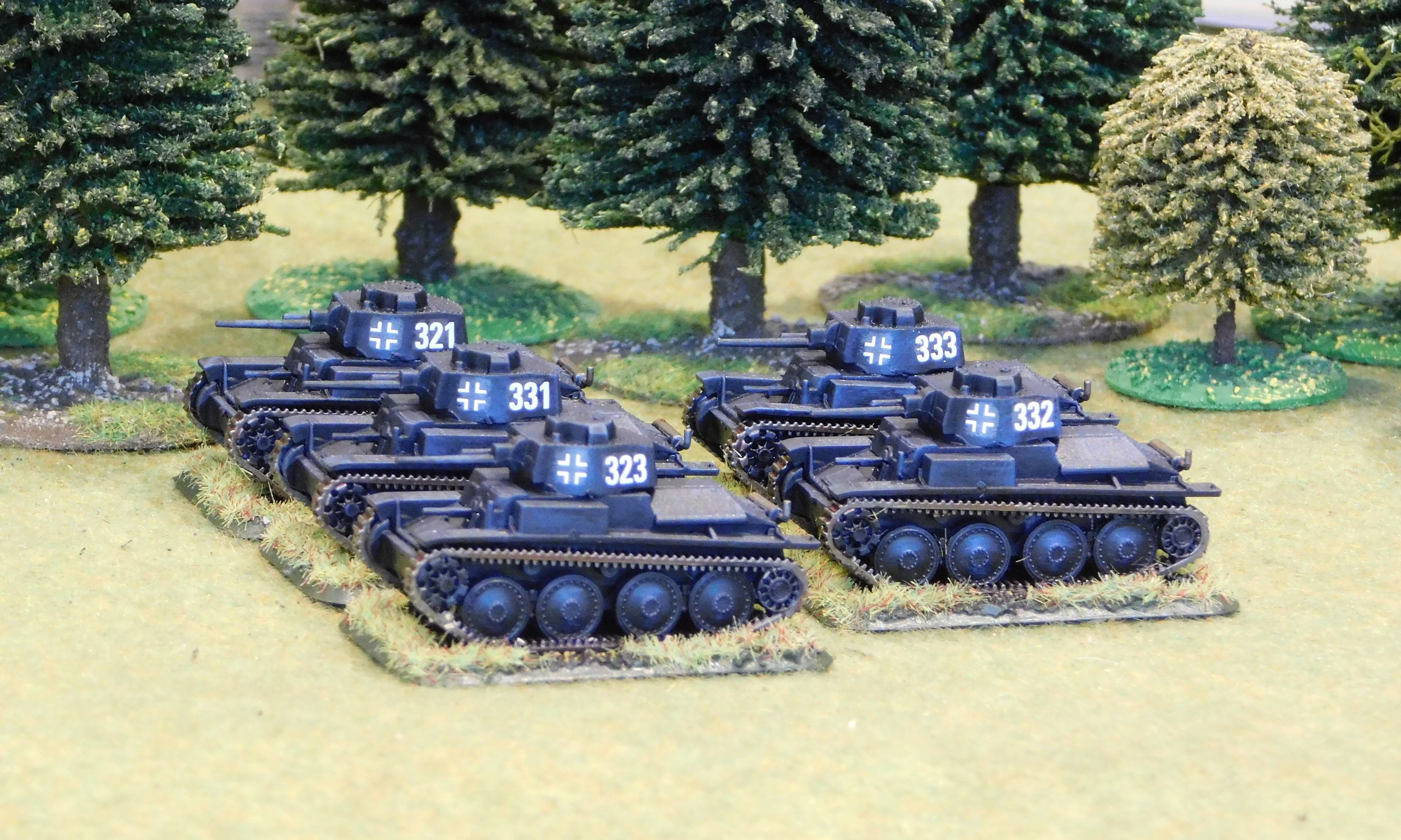 2nd (Panzer 38t) Platoon