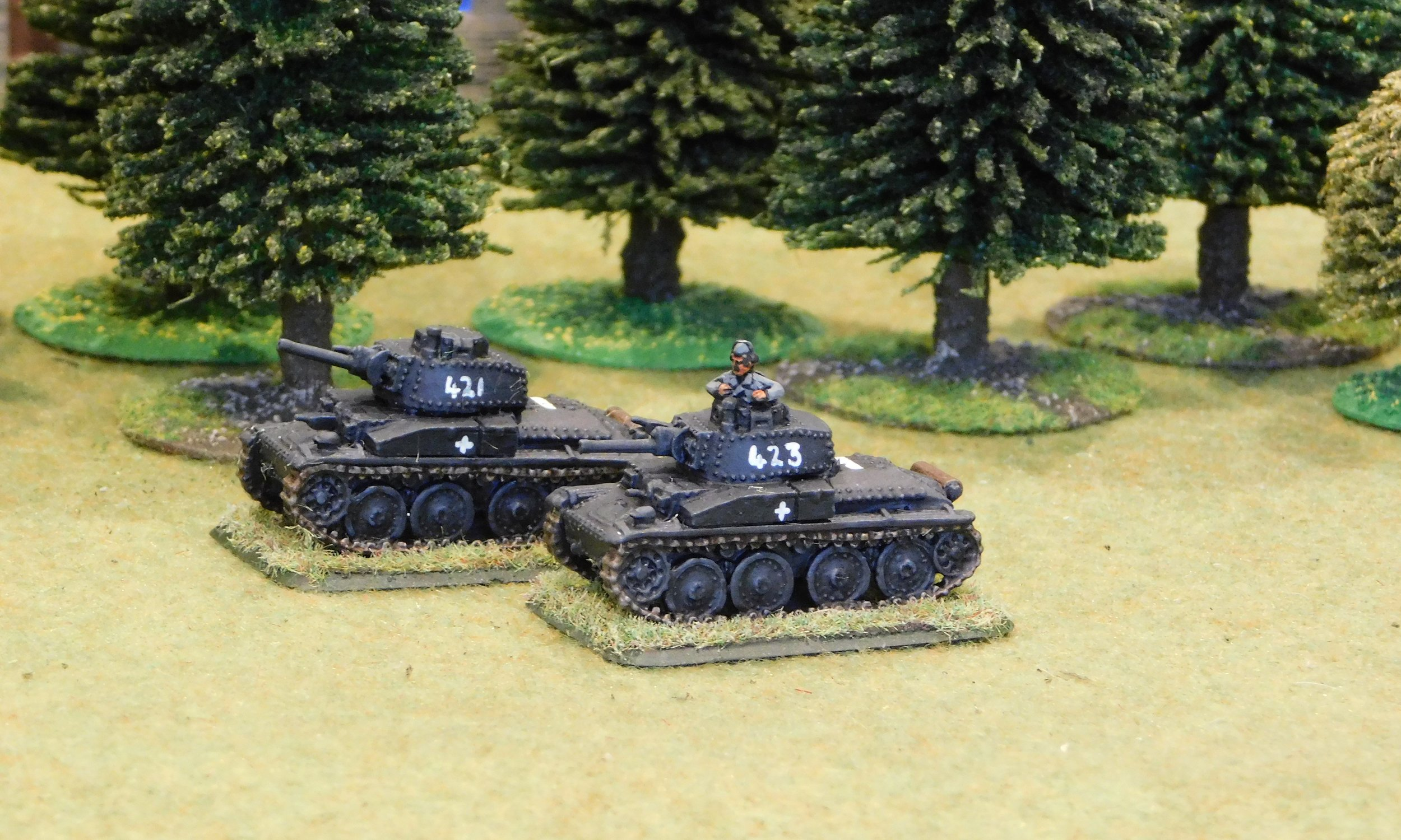 3rd (Panzer 38t) Platoon (remnants)