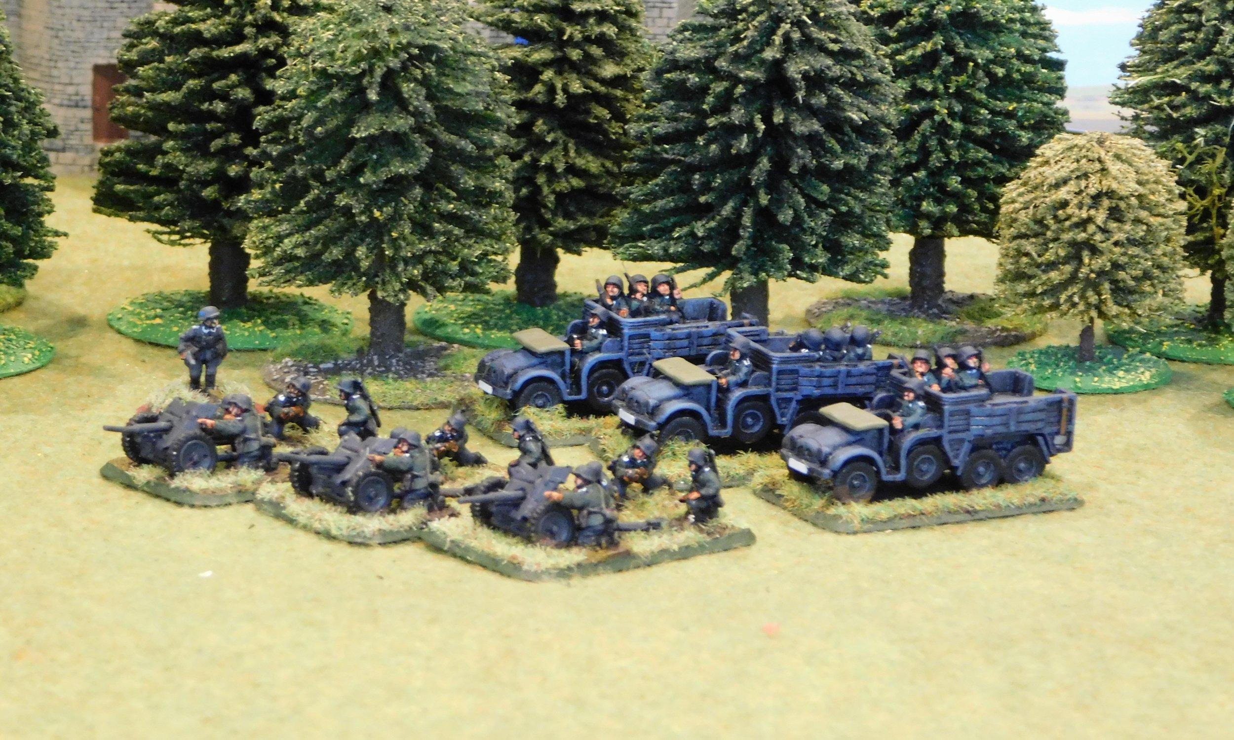 Anti-Tank Gun Platoon