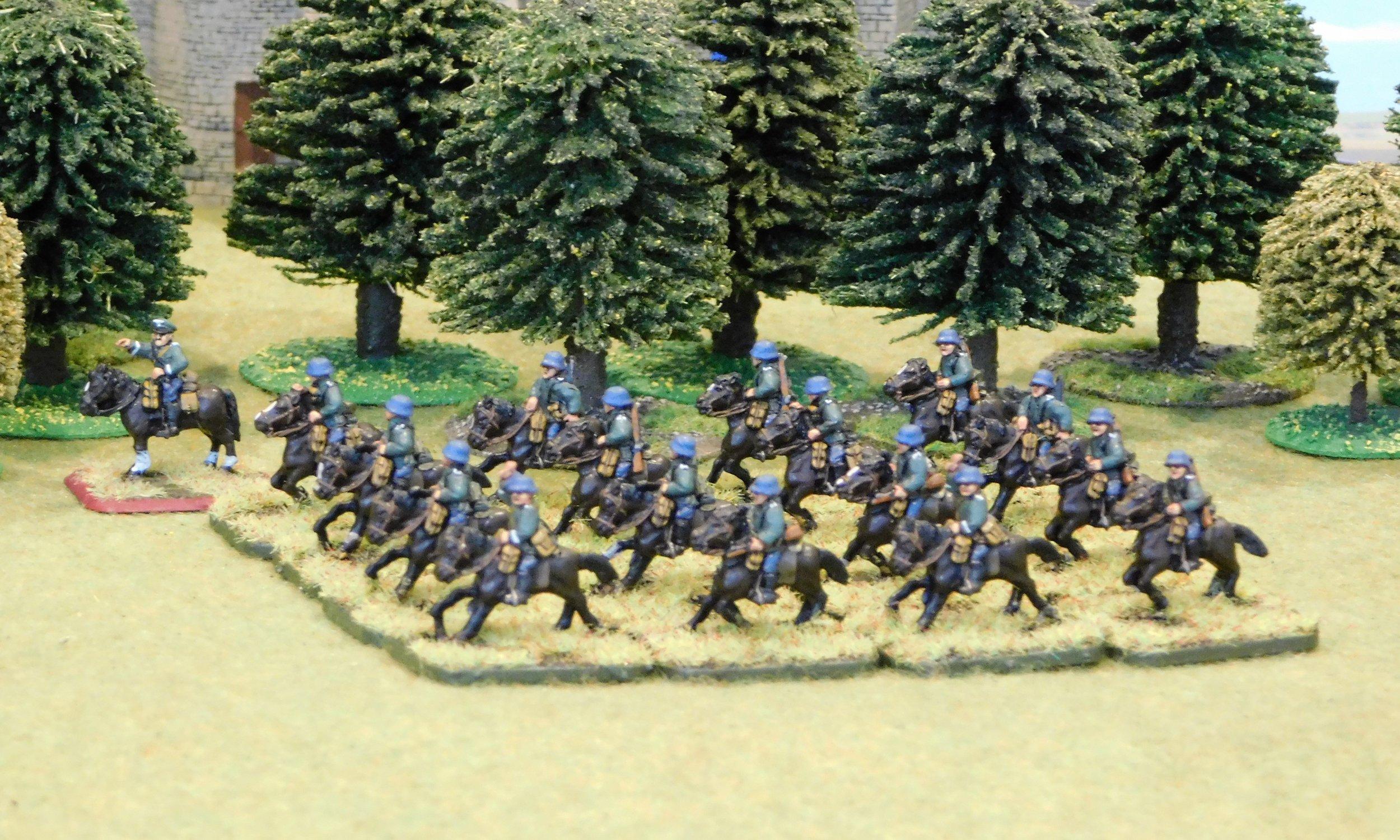 Mounted Reconnaissance Platoon (remnants)