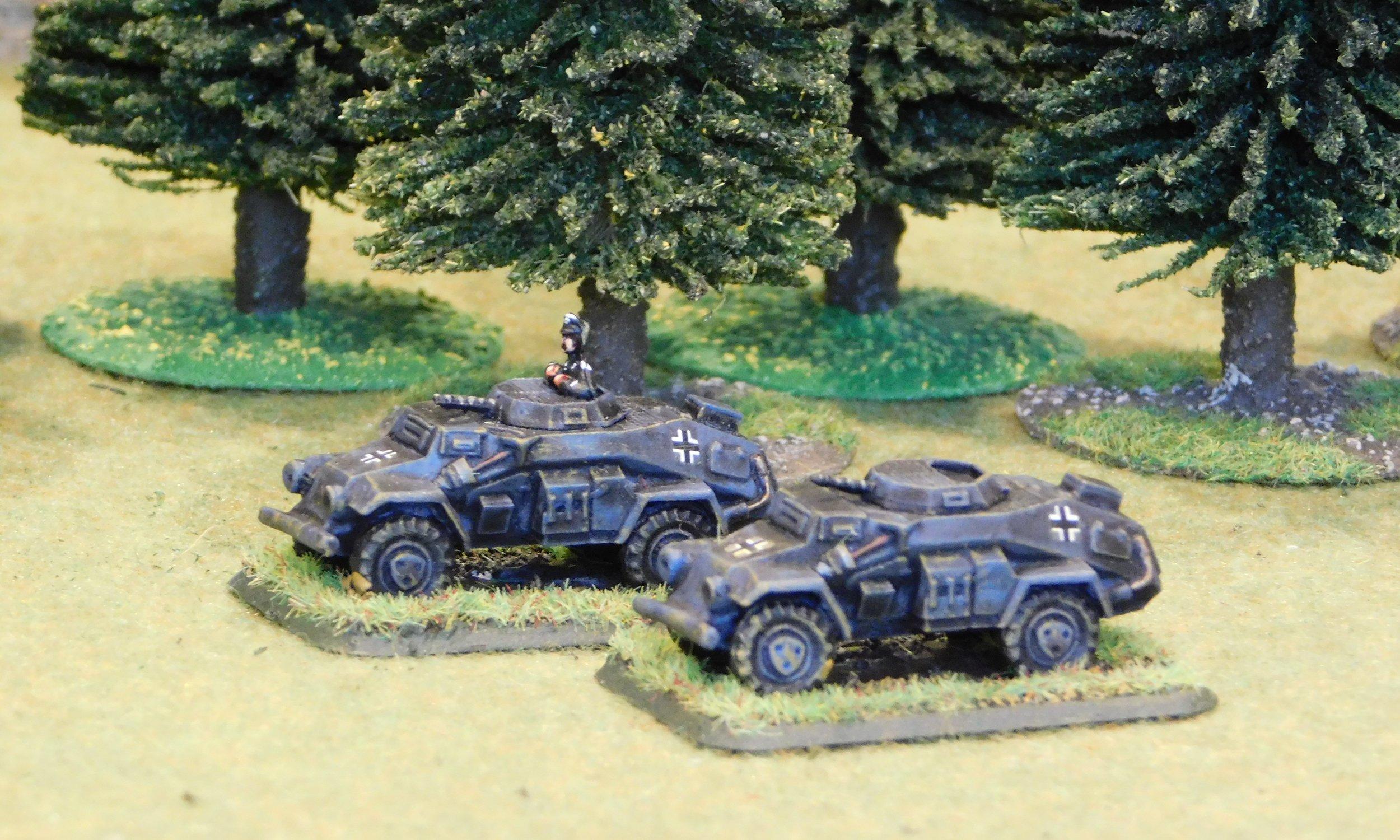 Armoured Car Patrol (remnants)