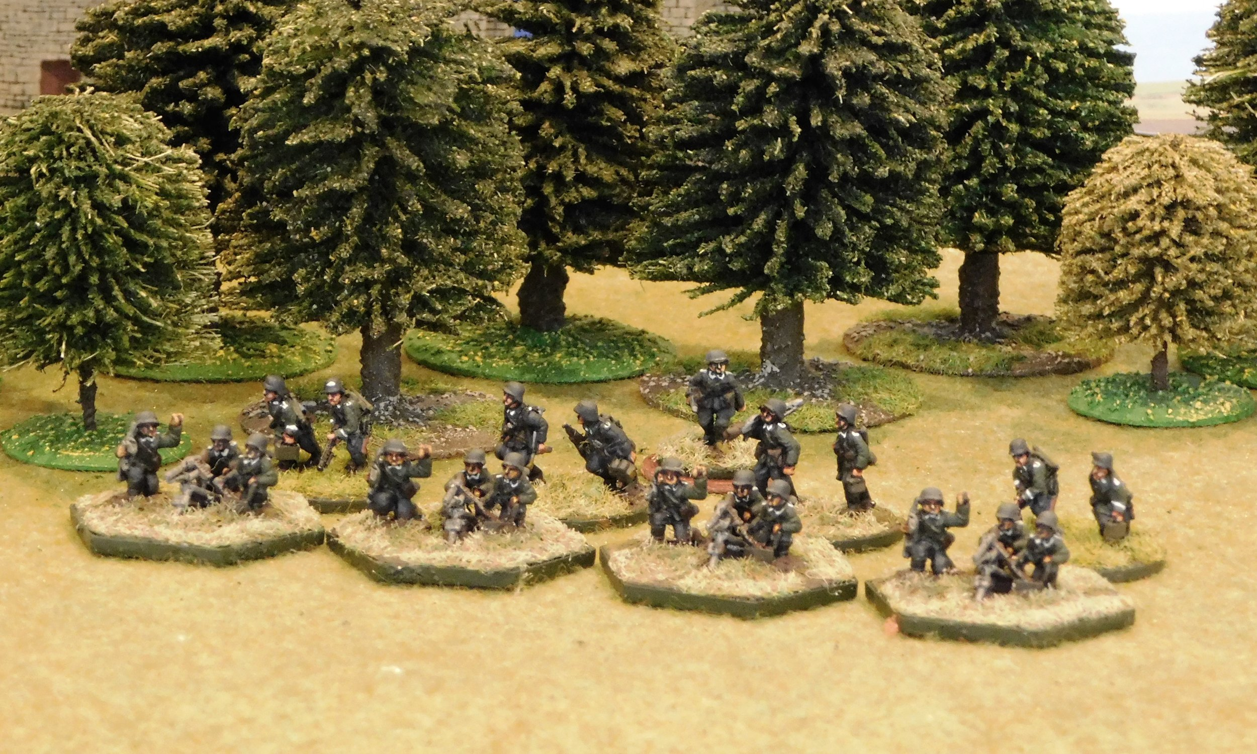 motorised Machine Gun Platoon (no transport)