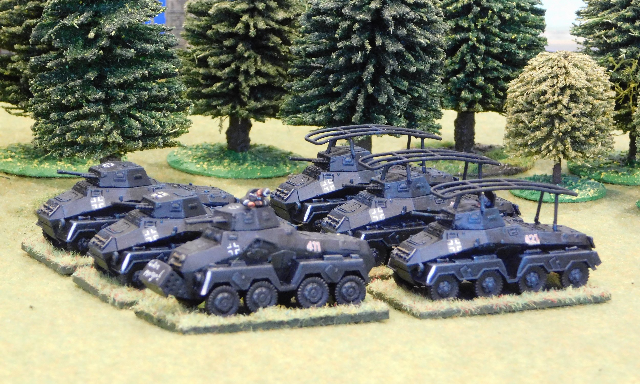 Heavy Armoured car Platoon