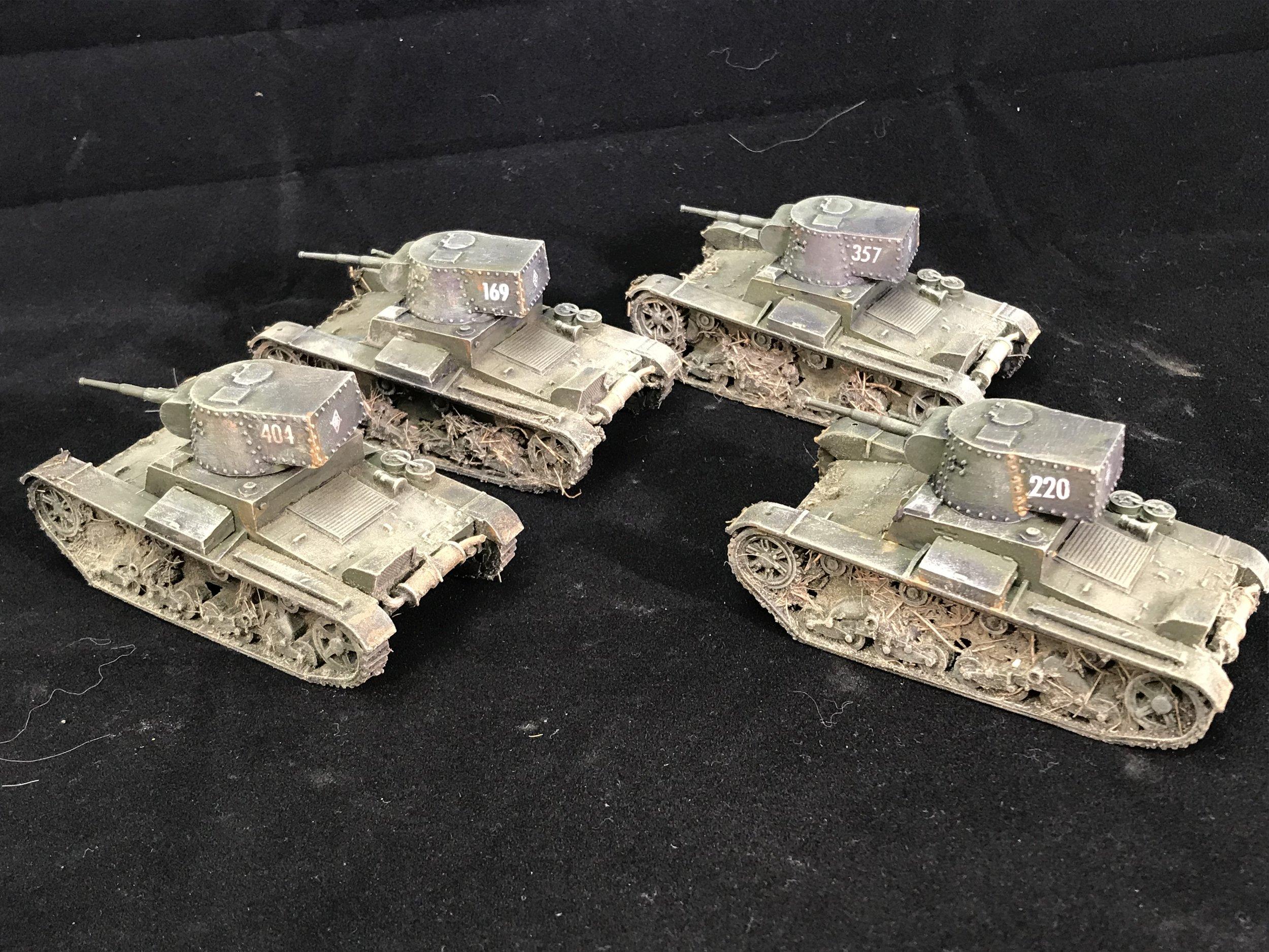 Chris' T-26 Soviet Tanks
