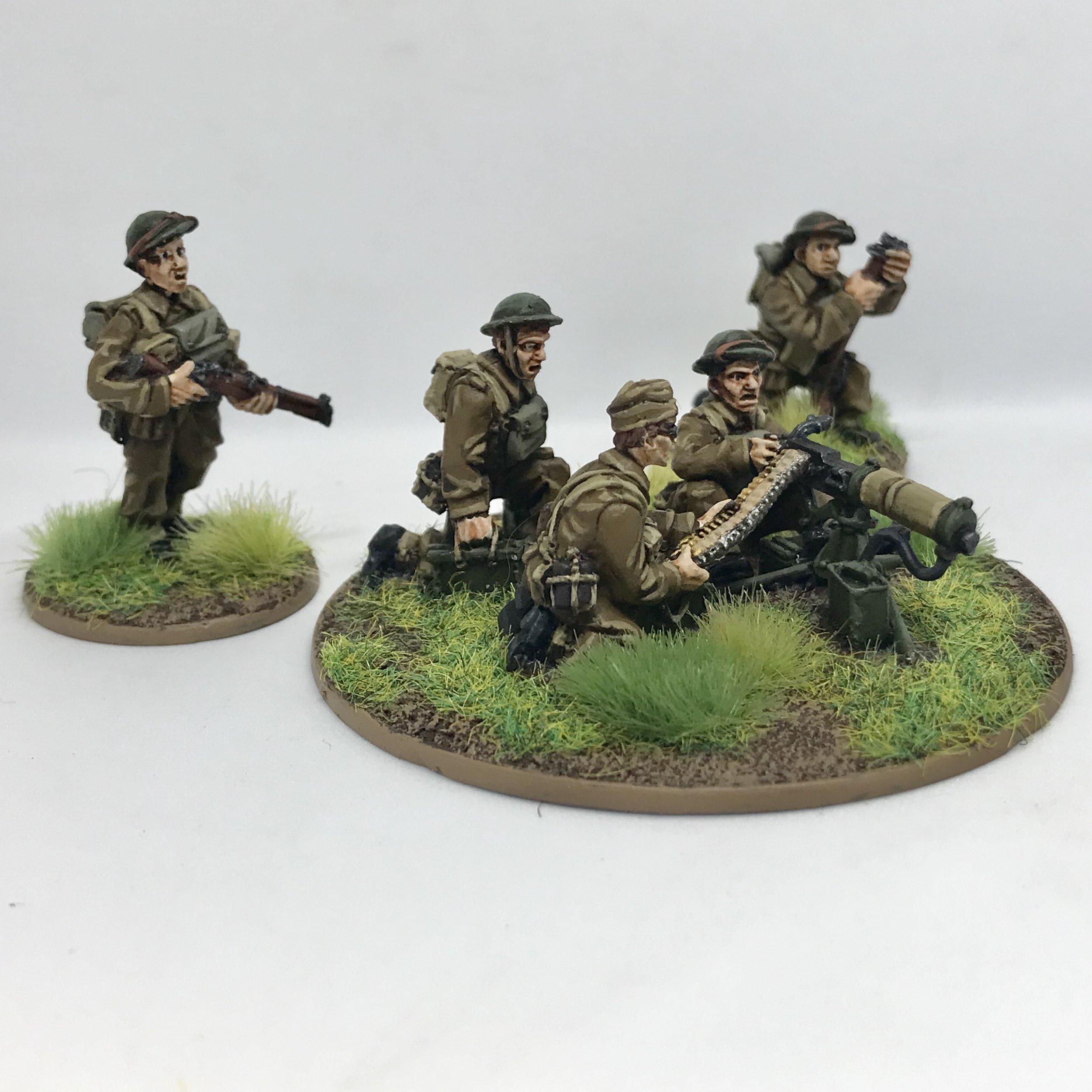 BEF Machine Gun Team from Travis