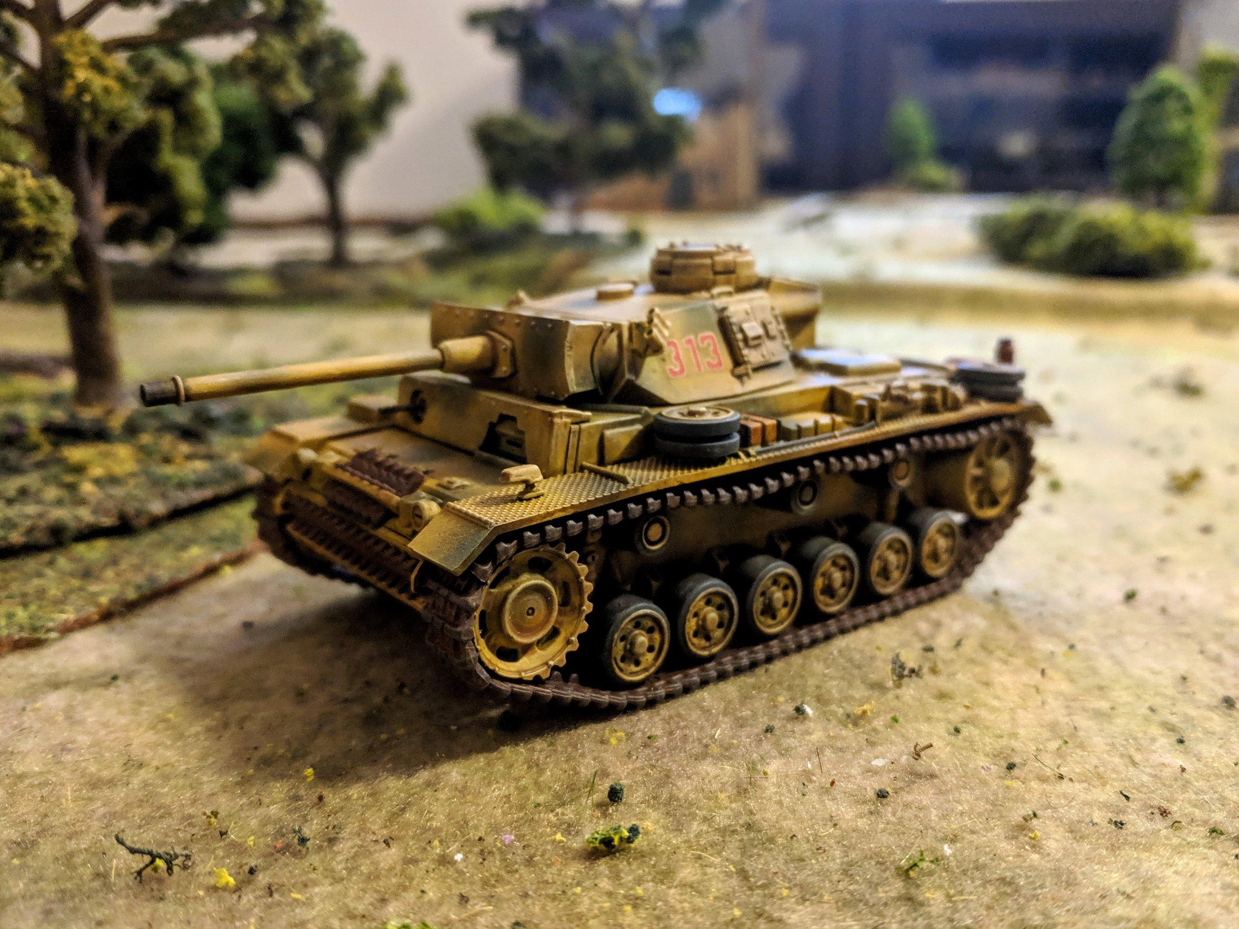 First-Timer John Emmett's Panzer III Flamm.