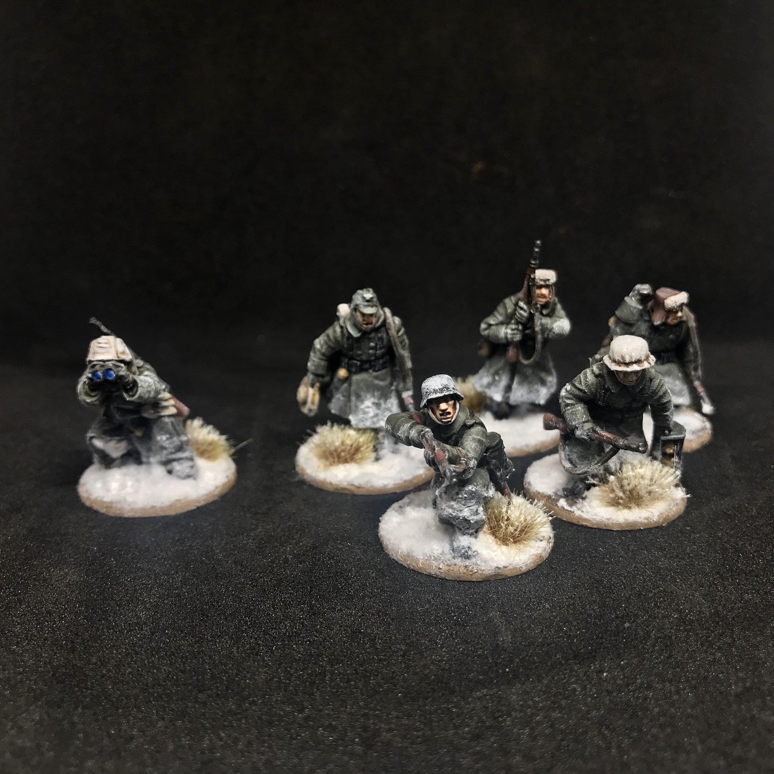 Winter War Germans from Travis