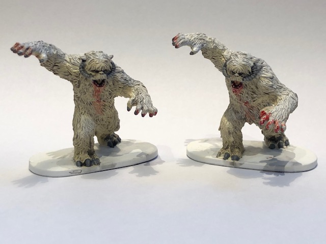 Star Wars' Yetis from Chris