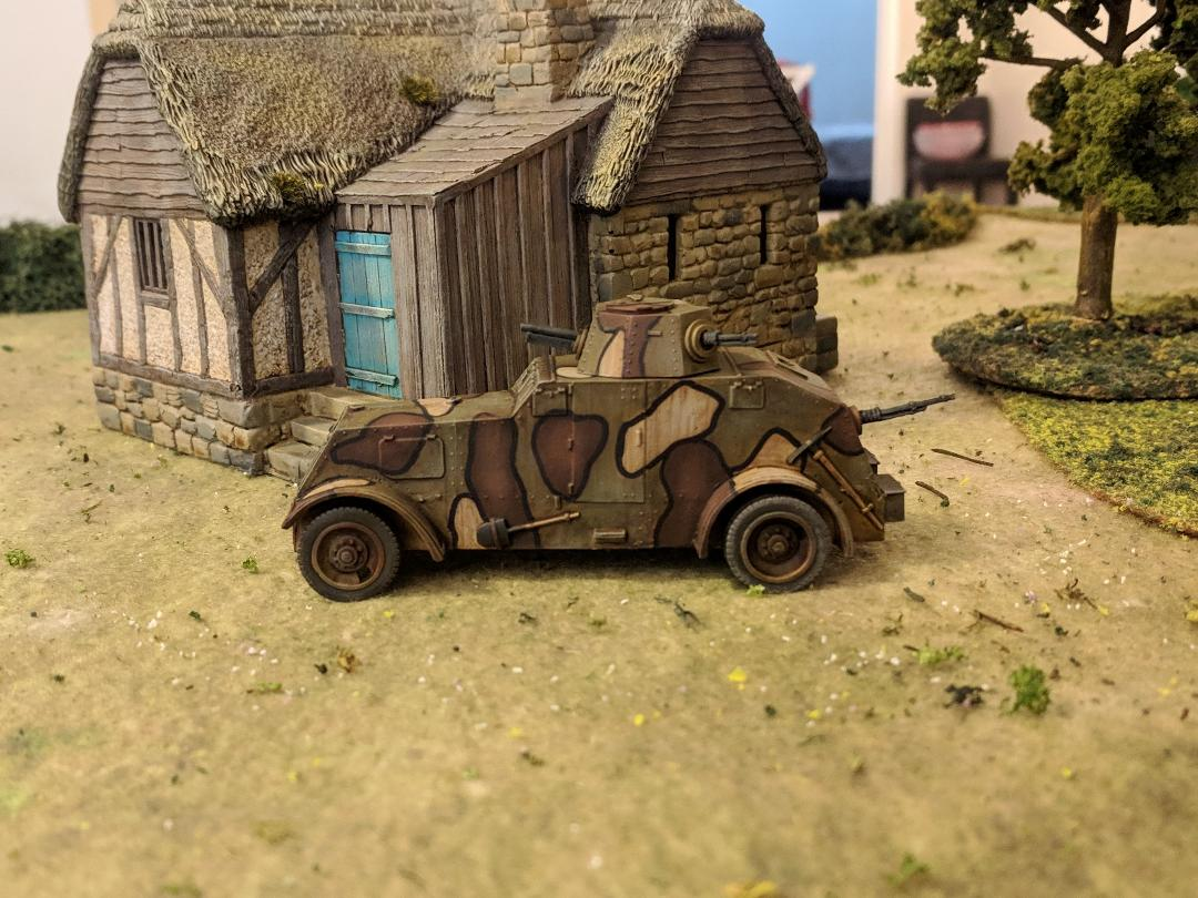 A Polish wz.29 Ursus Armored Car from John