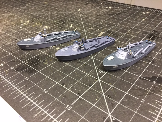 Patrol Boats from the Hat