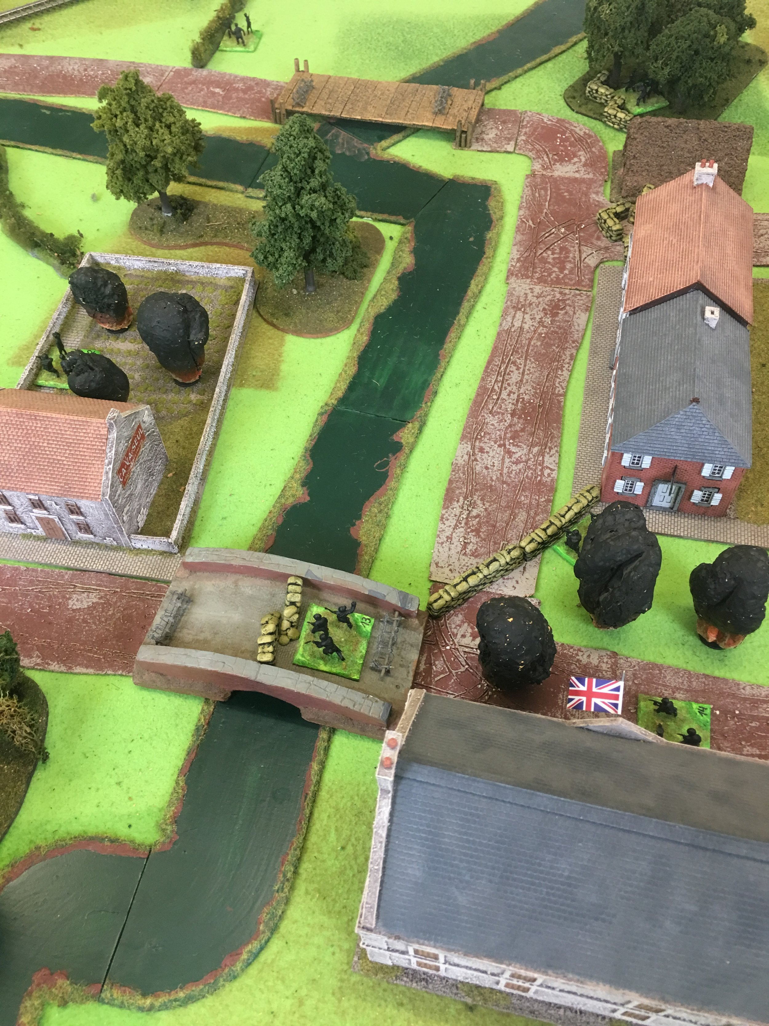 The scenario begins with one Stuka stonk against the British positions