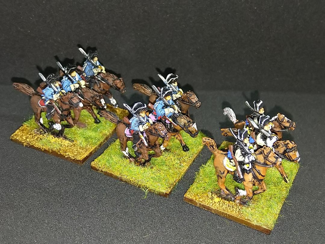 15mm Seven Years War Prussian cavalry from Andrew