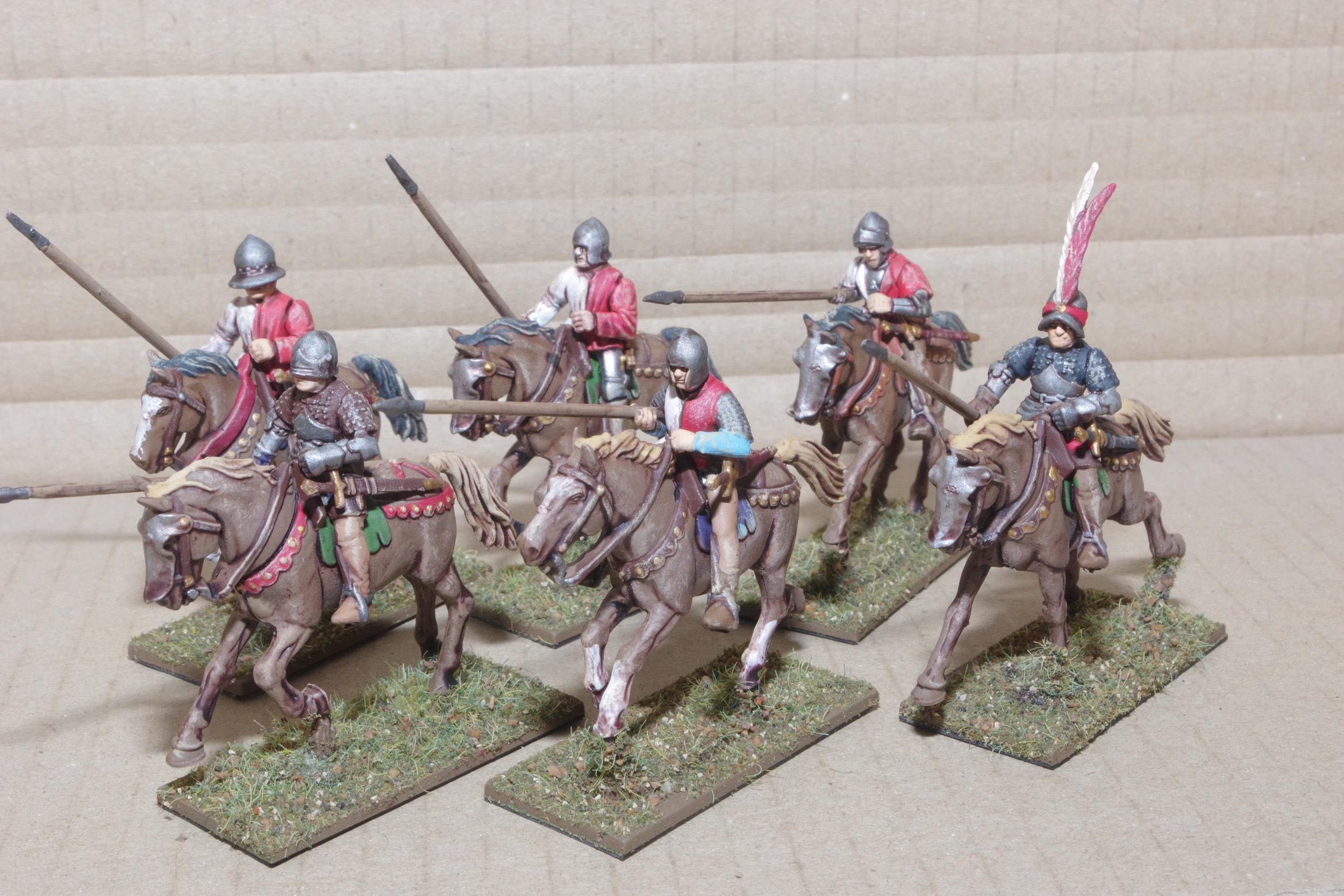 Mounted Sergeants from Carole