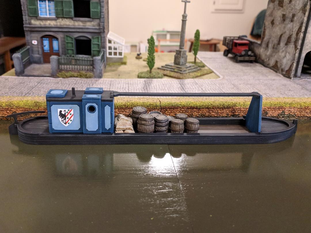 Canal Boat from John Emmett