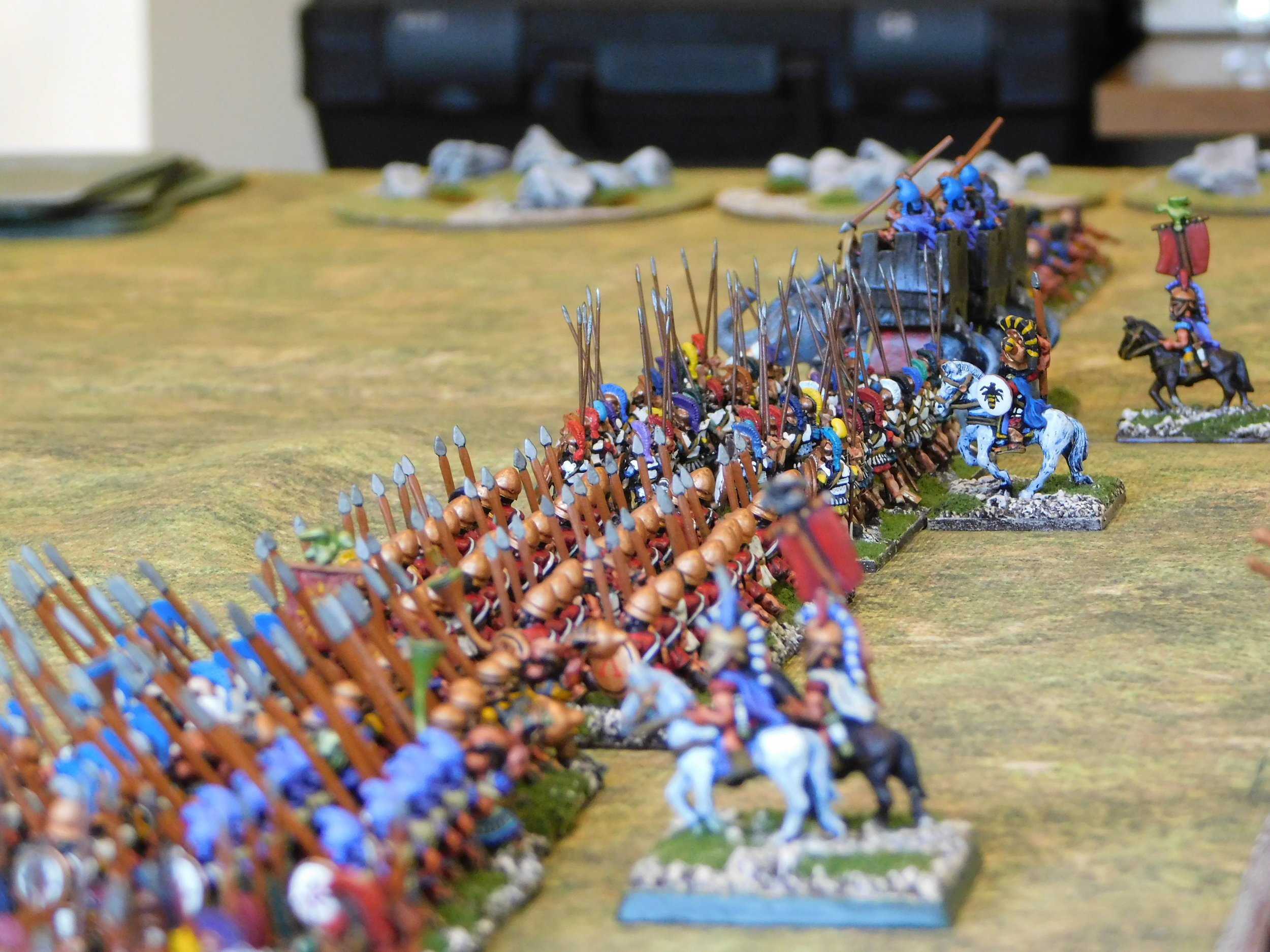 The Pyrrhic Heavy Infantry