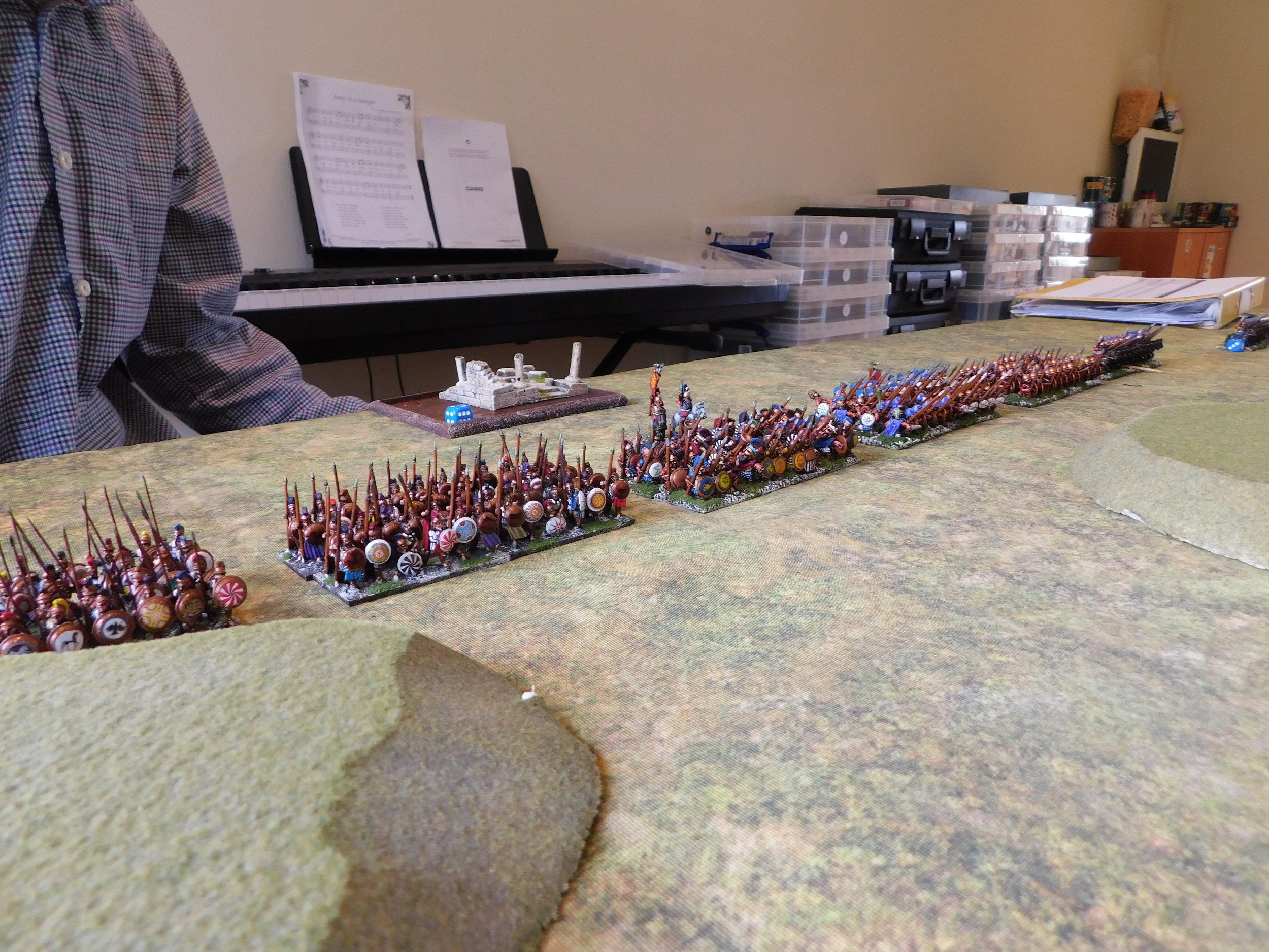 Pyrrhic Centre: Hoplites