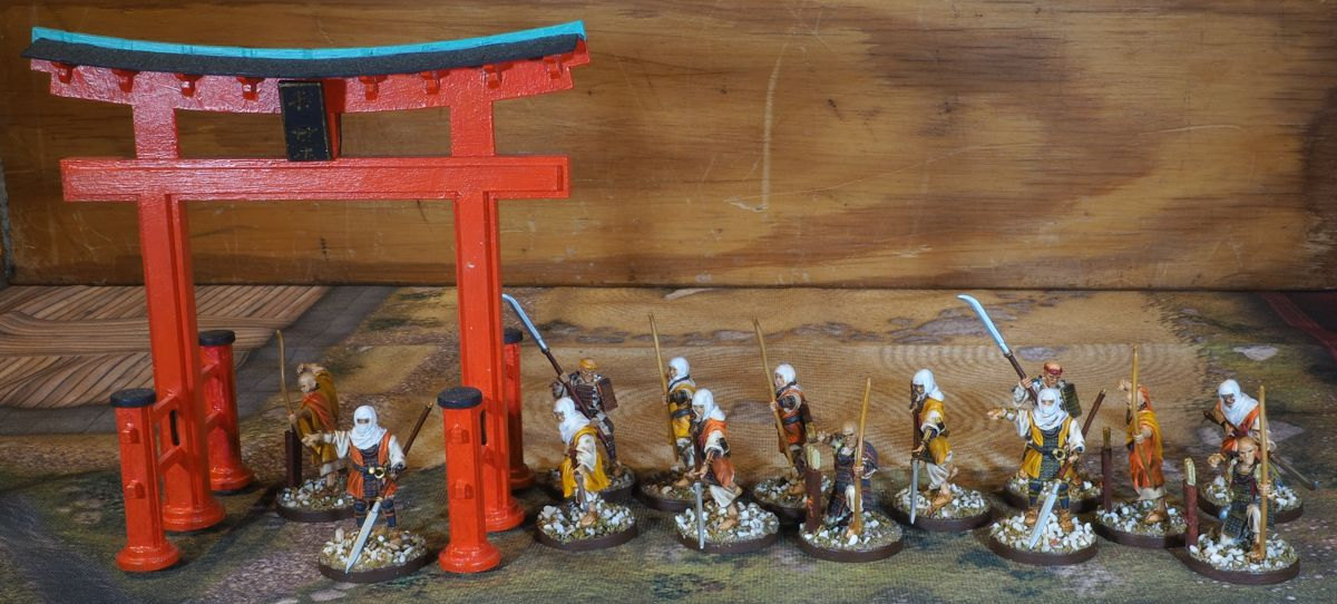 Warrior Monks from John Haines