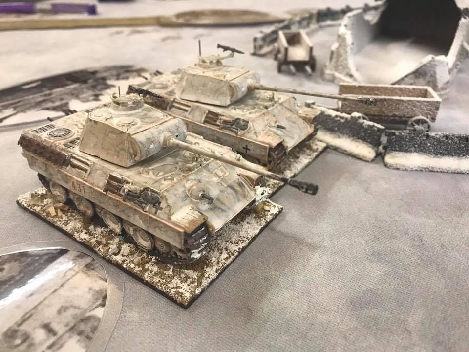 Panthers deploy and soon made the railcar wish it had not arrived on table!