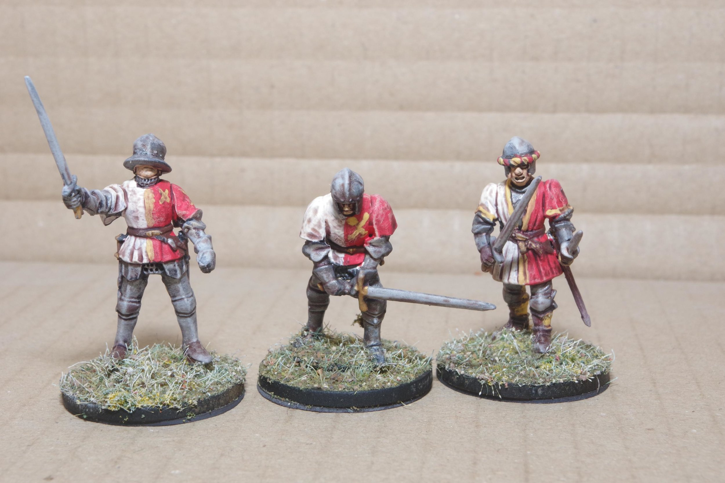 Liveried Men-At-Arms from Carole