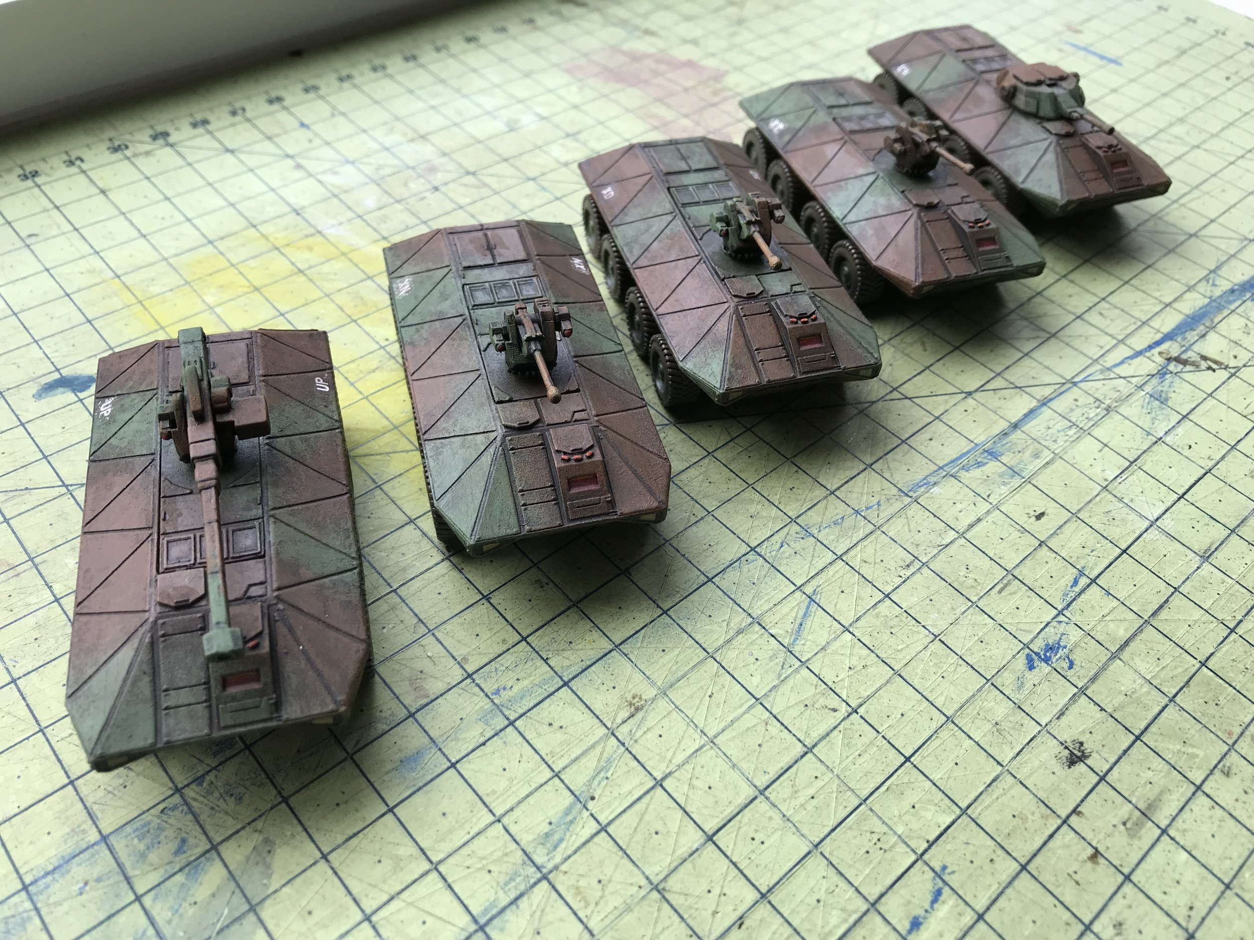 Sci-Fi Tanks from Ralph