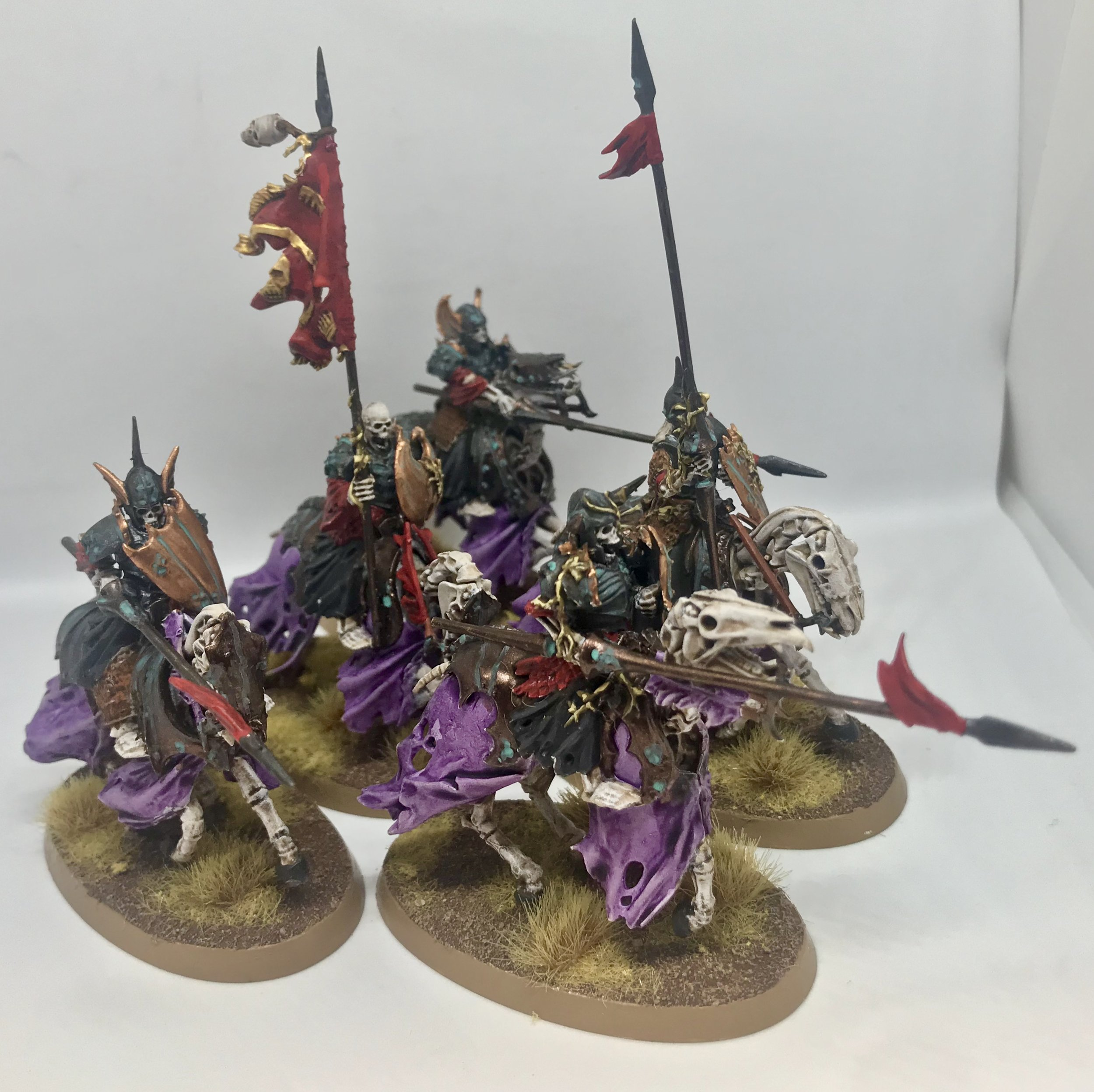 Skeleton Knights from Travis