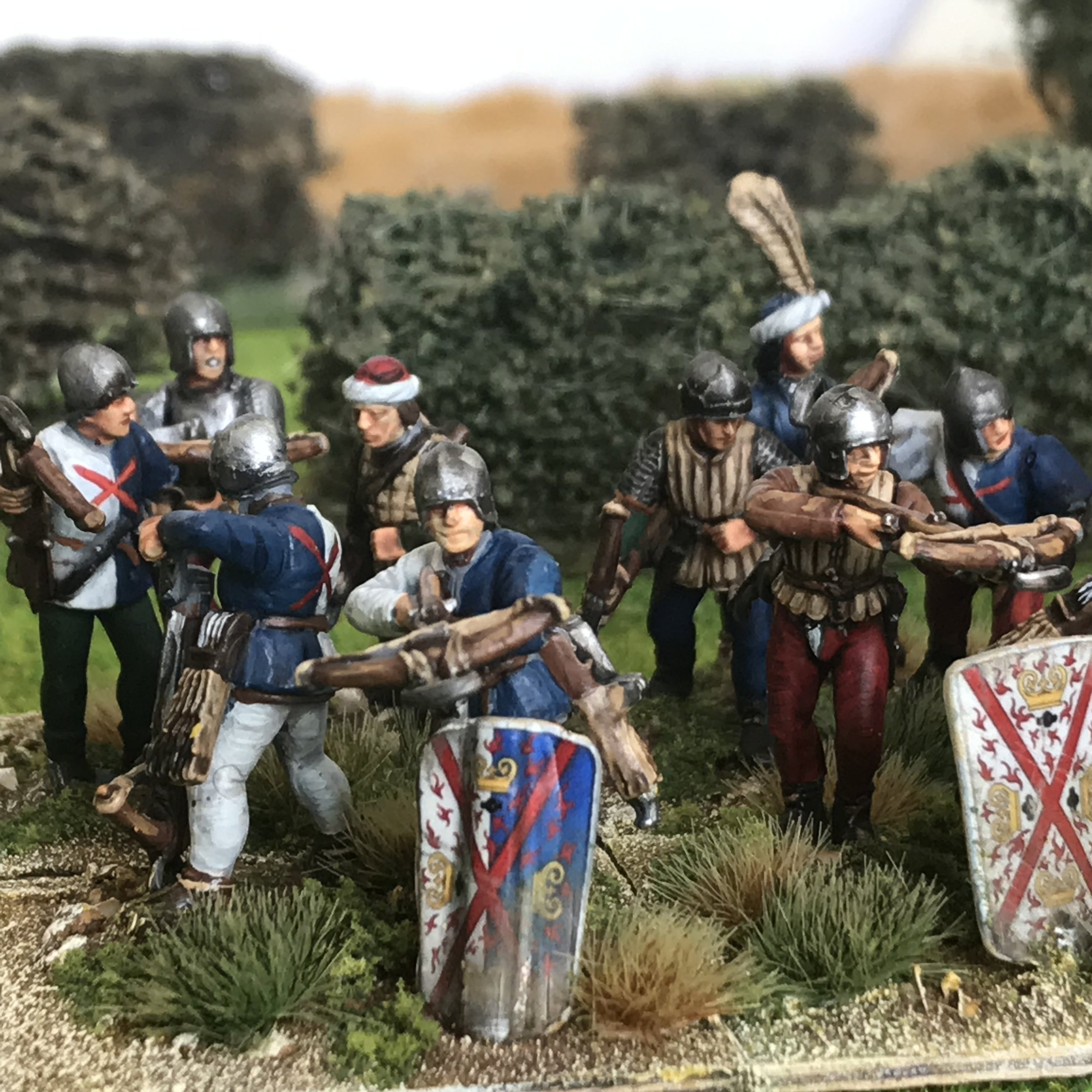Italian wars crossbowmen from Chris Cornwell