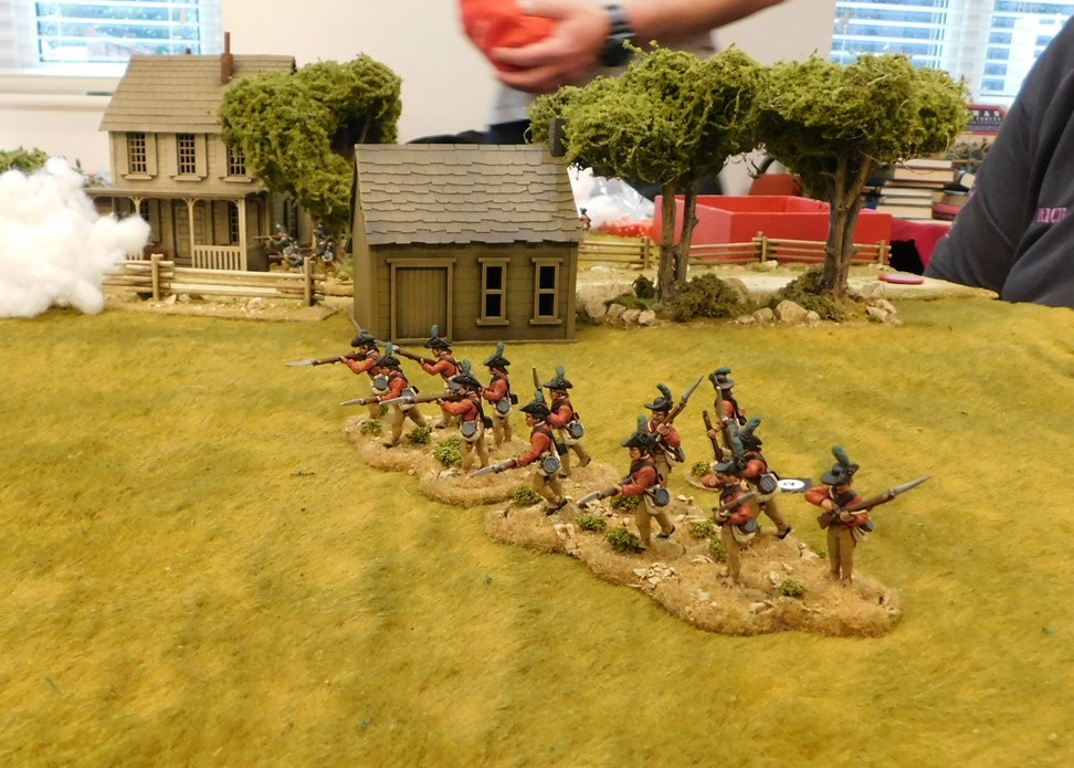 American War of Independence: Sharp Practice in 28mm.