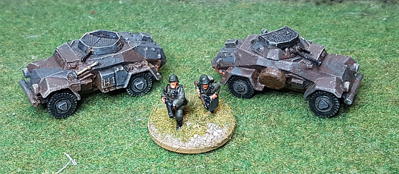 15mm SdKfz 222 from Derek