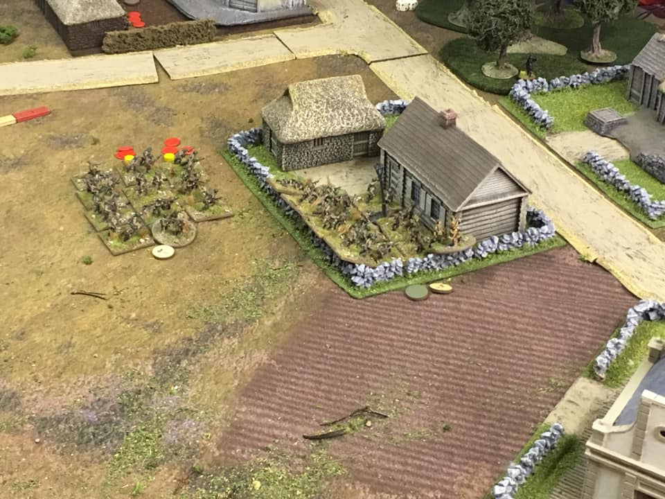 The Soviet Human Wave attack is successful in clearing the farmyard of Polish anti-tank guns