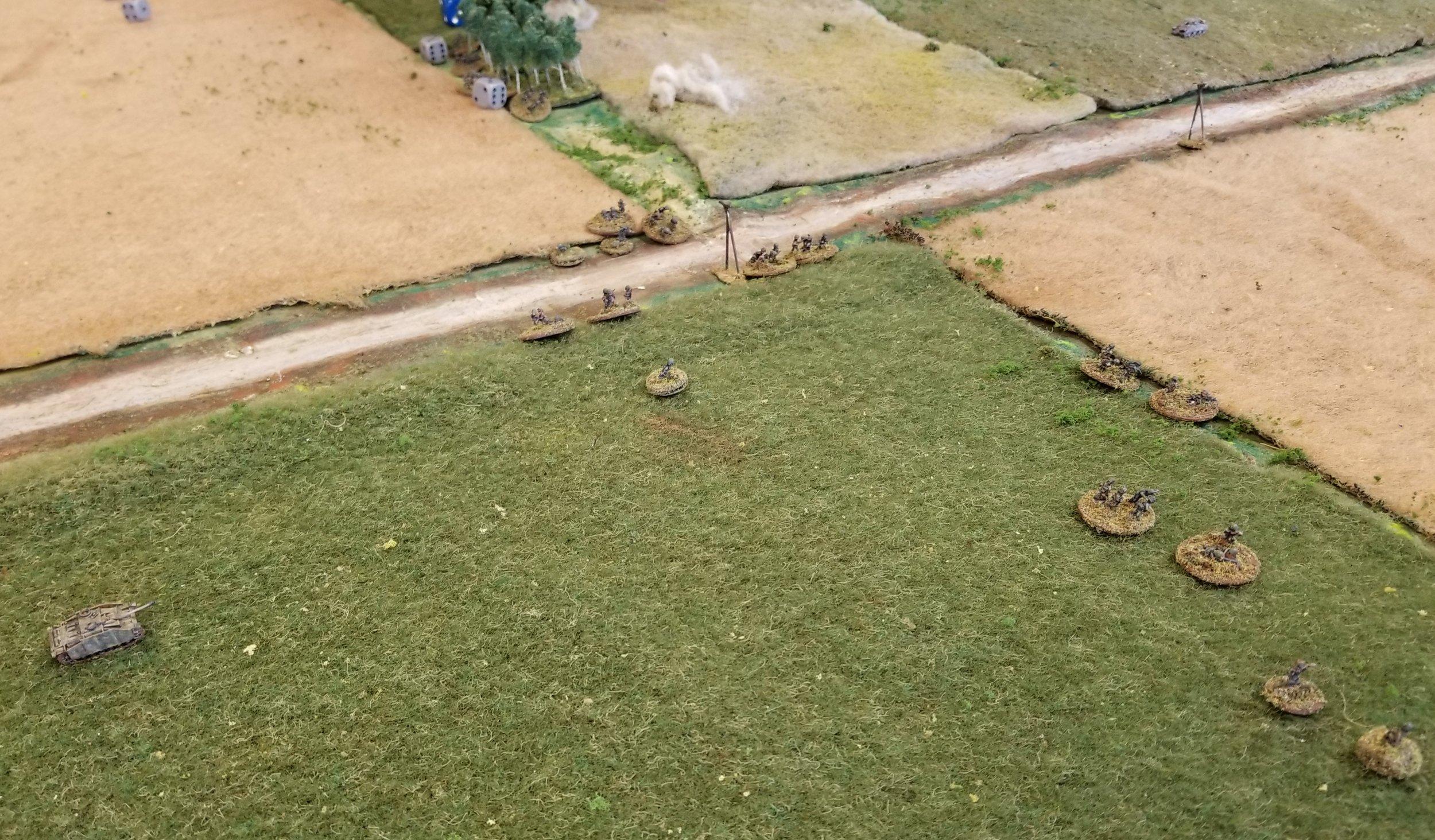 2 Kompanie still advancing