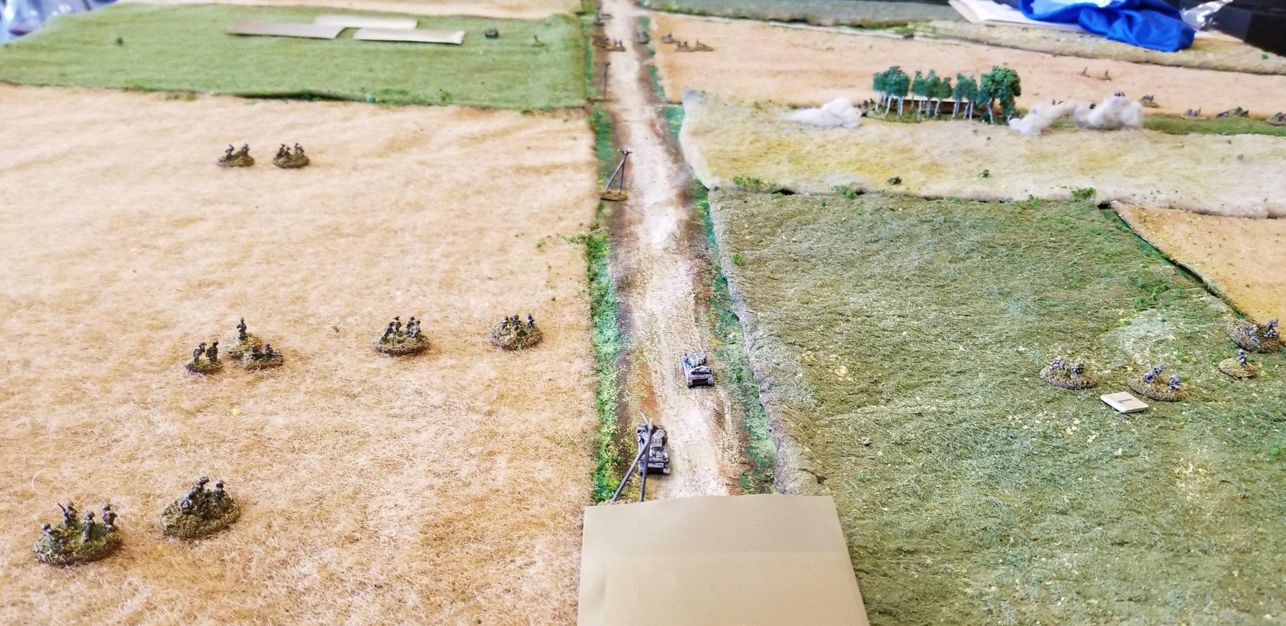 Sherwood Rangers' Shermans arrive
