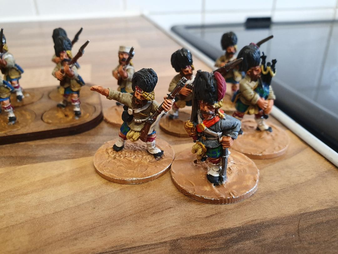 Indian Mutiny Highlanders from Joe