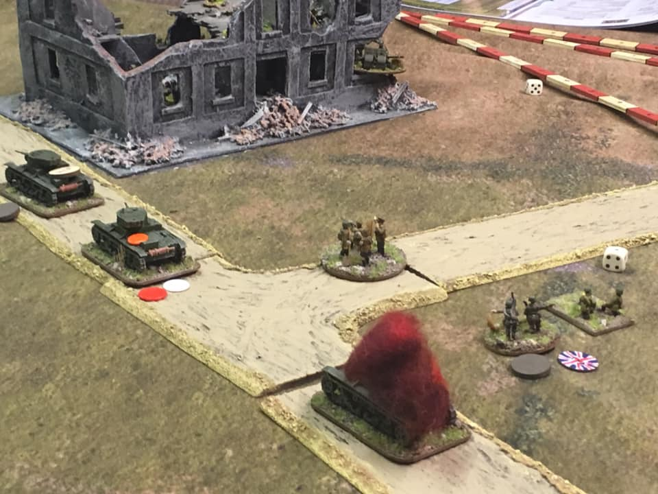 Disaster on the Russian right flank.