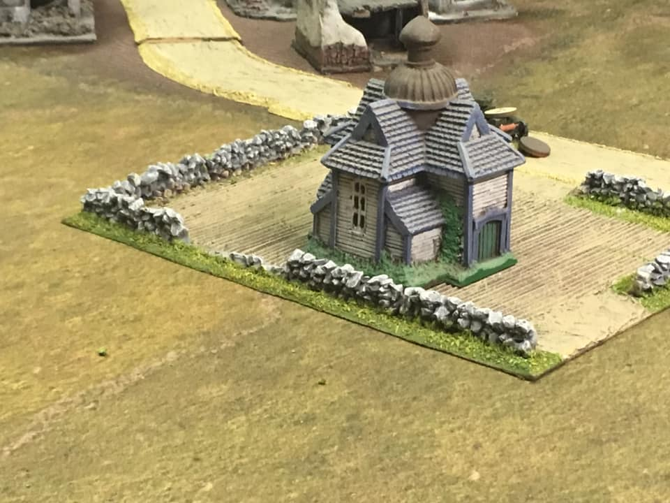 Polish objective left unattended.