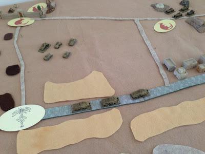 The German attack develops