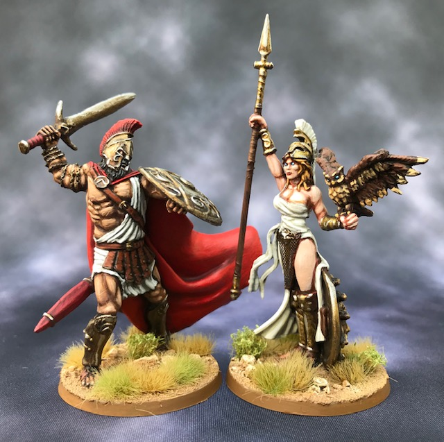 One more from Matt: Ares and Athena (the two faces of war)