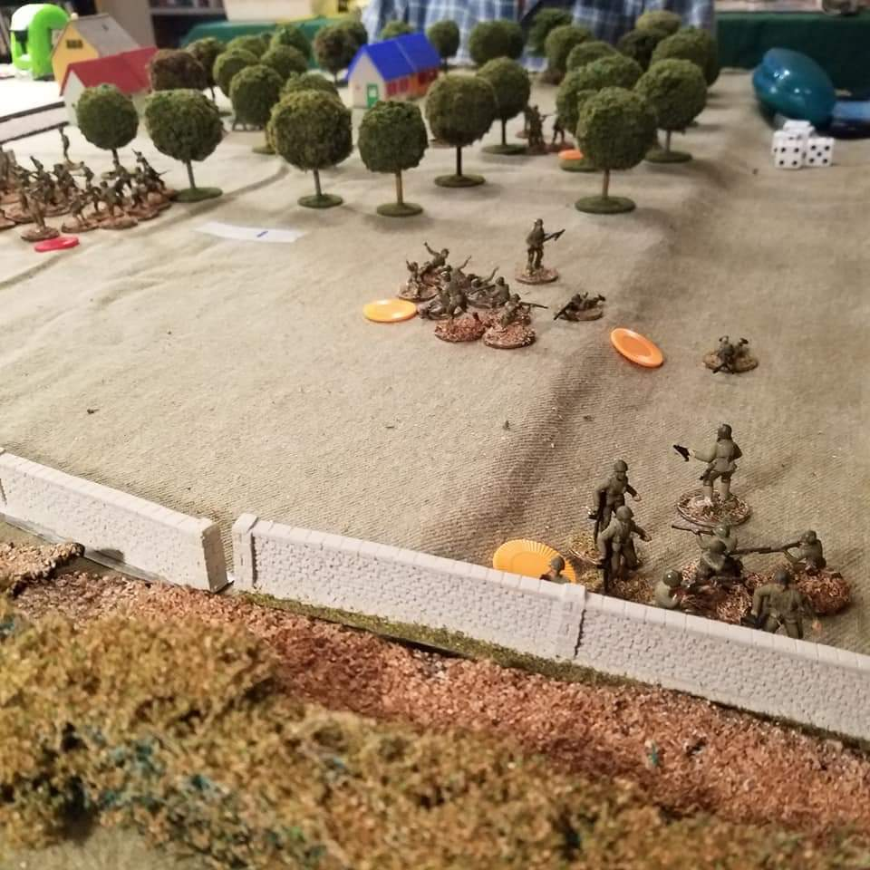 After the German platoon retreated, another Ranger platoon moved quickly towards the German lines.
