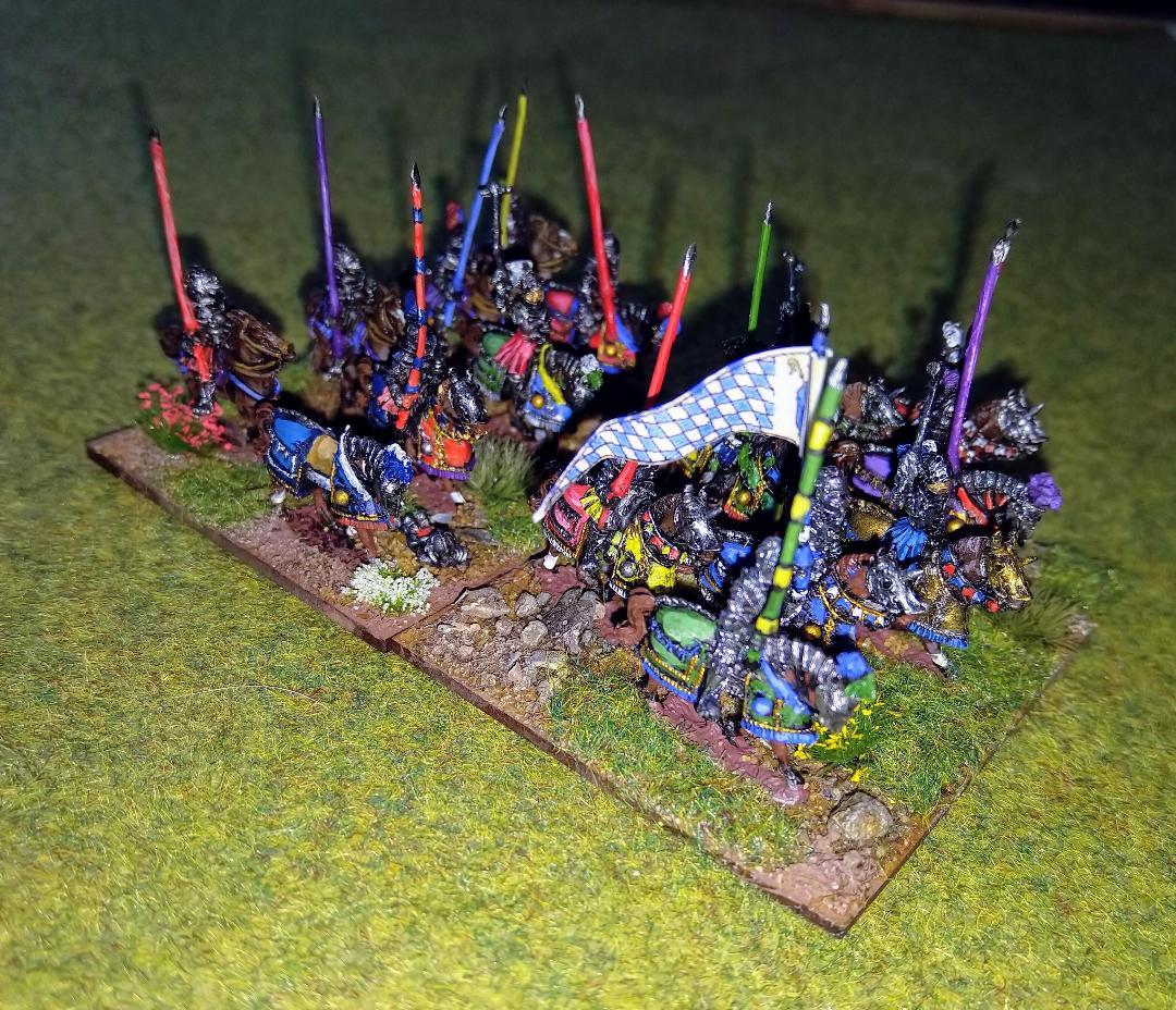 Venexia Italian Wars figures from Andrew Helliwell