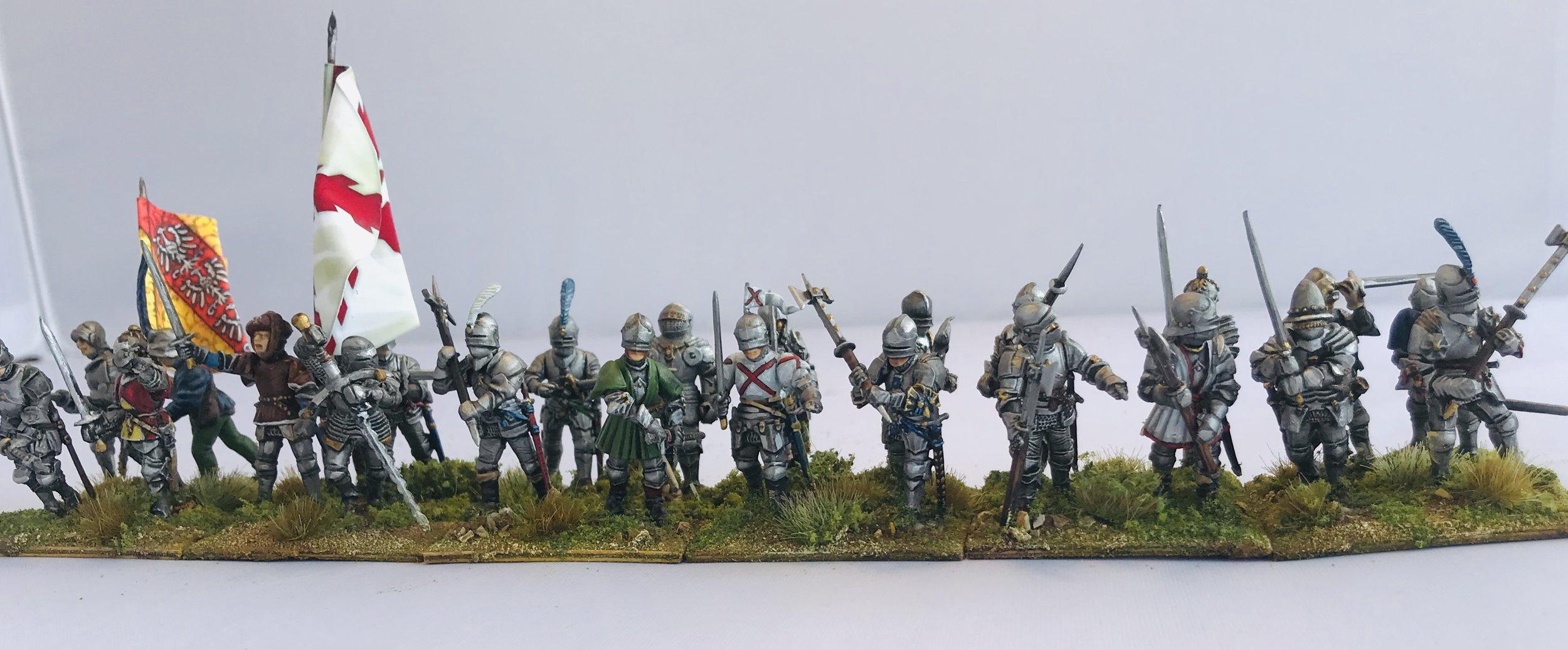Chris Cornwell's Dismounted Knights
