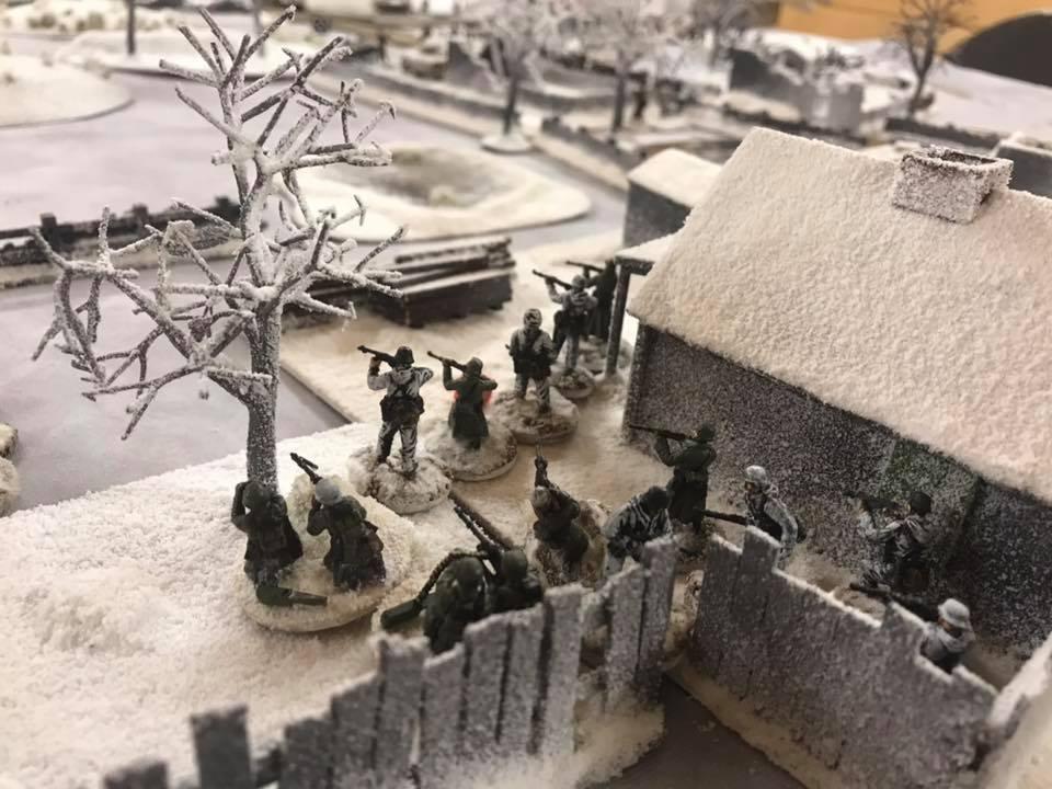 German zug awaits the next Soviet assault.